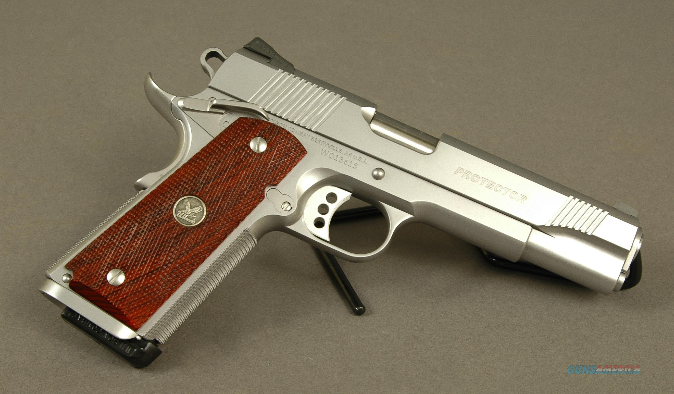 Wilson Combat Protector 45ACP Stainless, CA Approved  Guns > Pistols > Wilson Combat Pistols