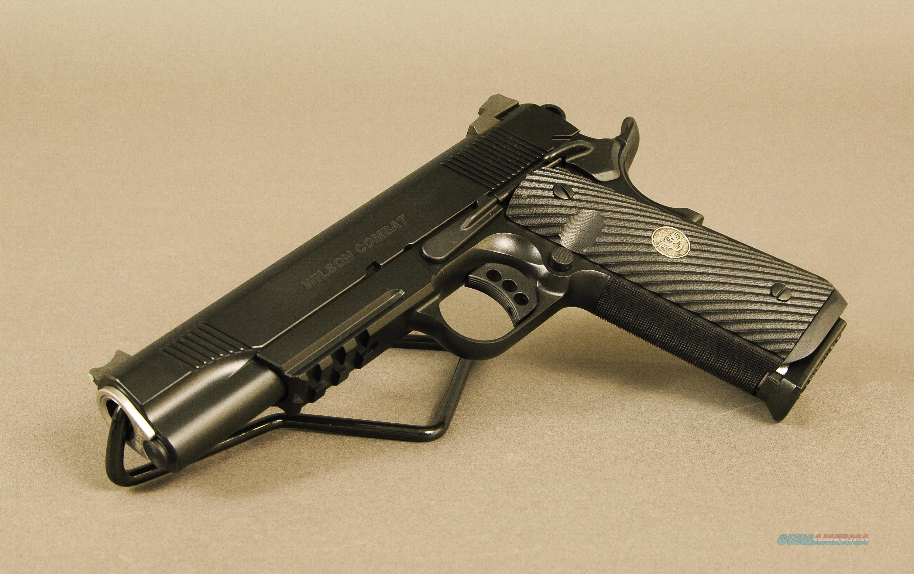 Wilson Combat CQB Elite 45ACP Armor-Tuff   Guns > Pistols > Wilson Combat Pistols