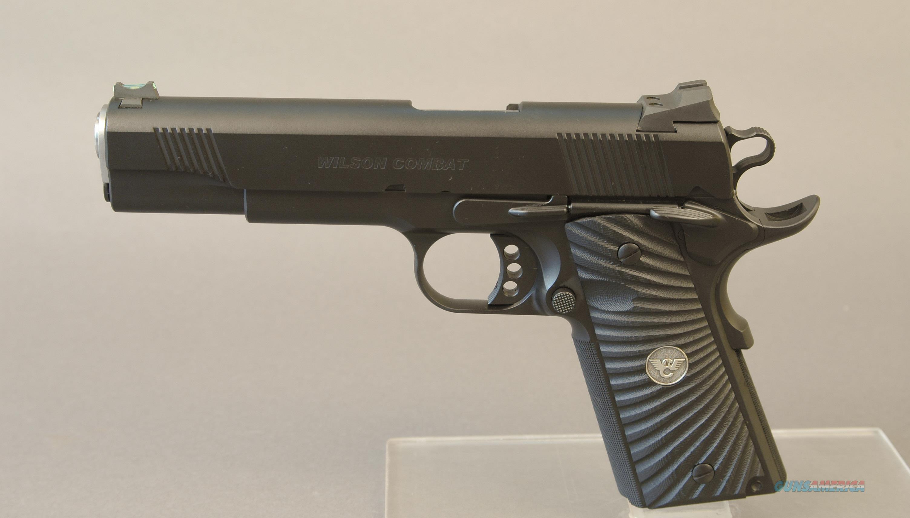 Wilson Combat CQB Armor-Tuff 45ACP   Guns > Pistols > Wilson Combat Pistols