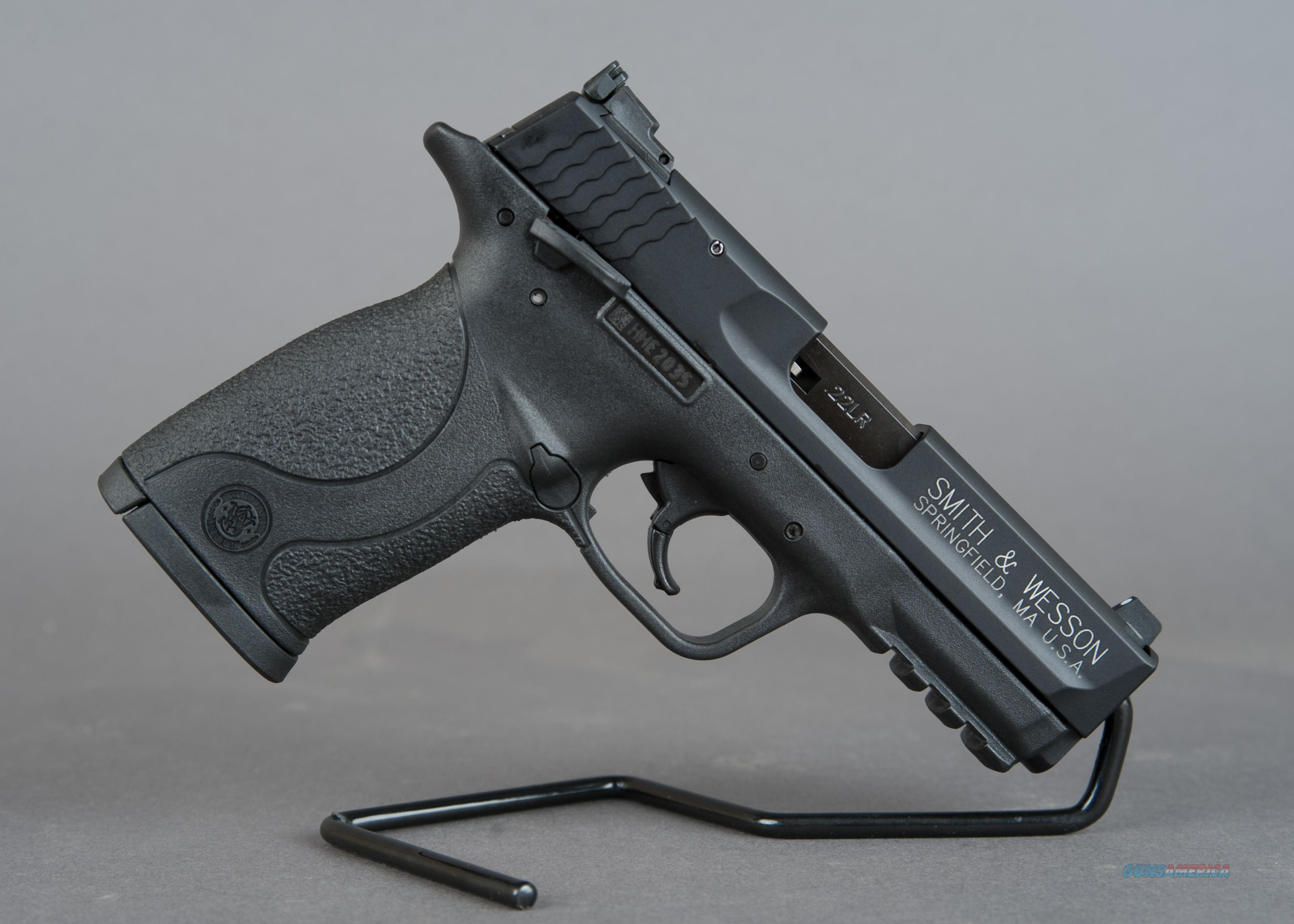 "Smith & Wesson M&P 22 Compact 3.56"" Threaded Barrel 22LR  Guns > Pistols > Smith & Wesson Pistols - Autos > Polymer Frame"
