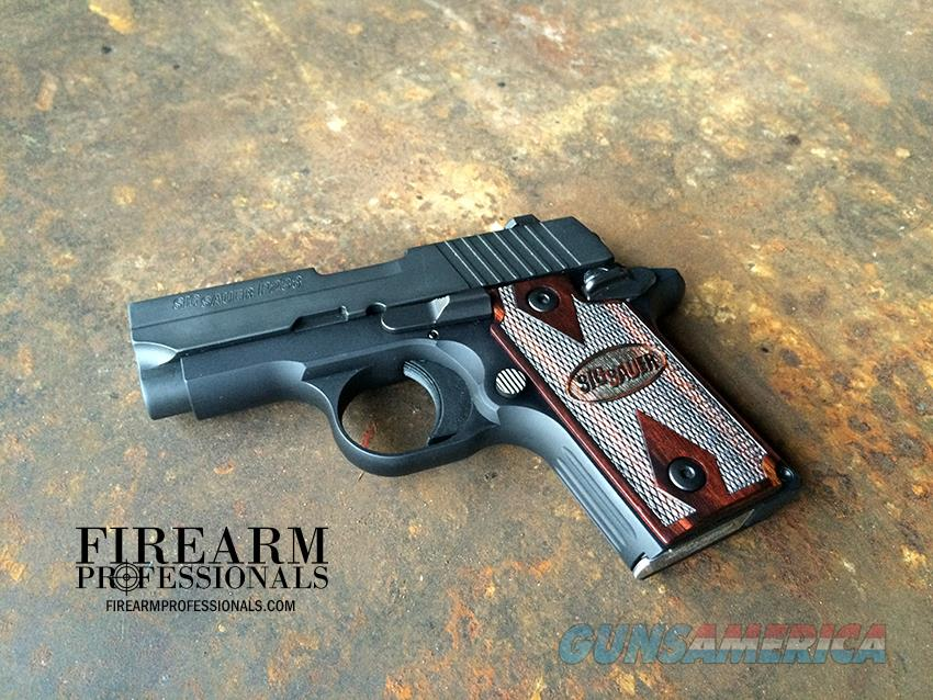 USED LNIB SIG SAUER P238 Rosewood for sale  Guns > Pistols > Sig - Sauer/Sigarms Pistols > P238