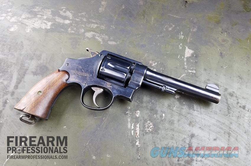 USED Smith & Wesson Model 1917 Army revolver  Guns > Pistols > Smith & Wesson Revolvers > Pre-1945