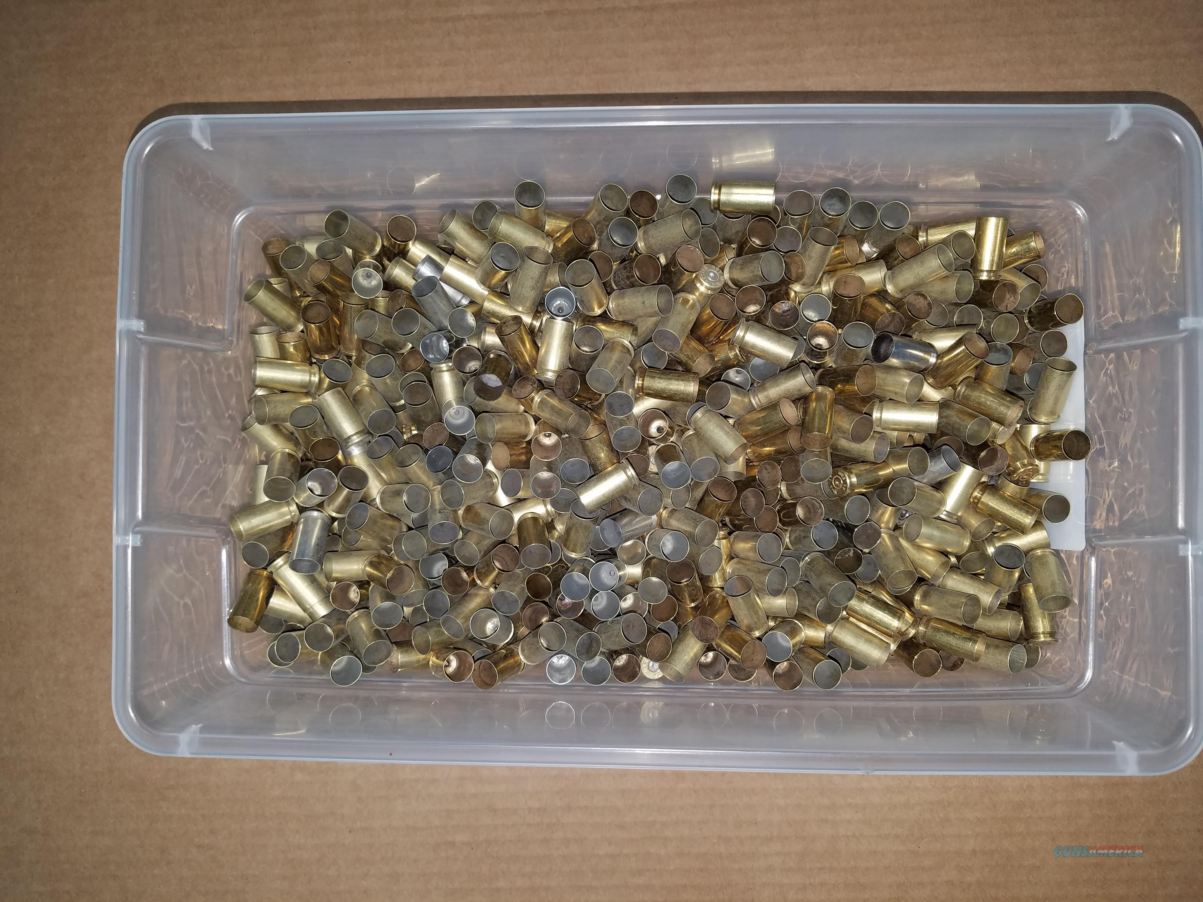 1000 pieces .40 S&W range brass  Non-Guns > Reloading > Components > Brass