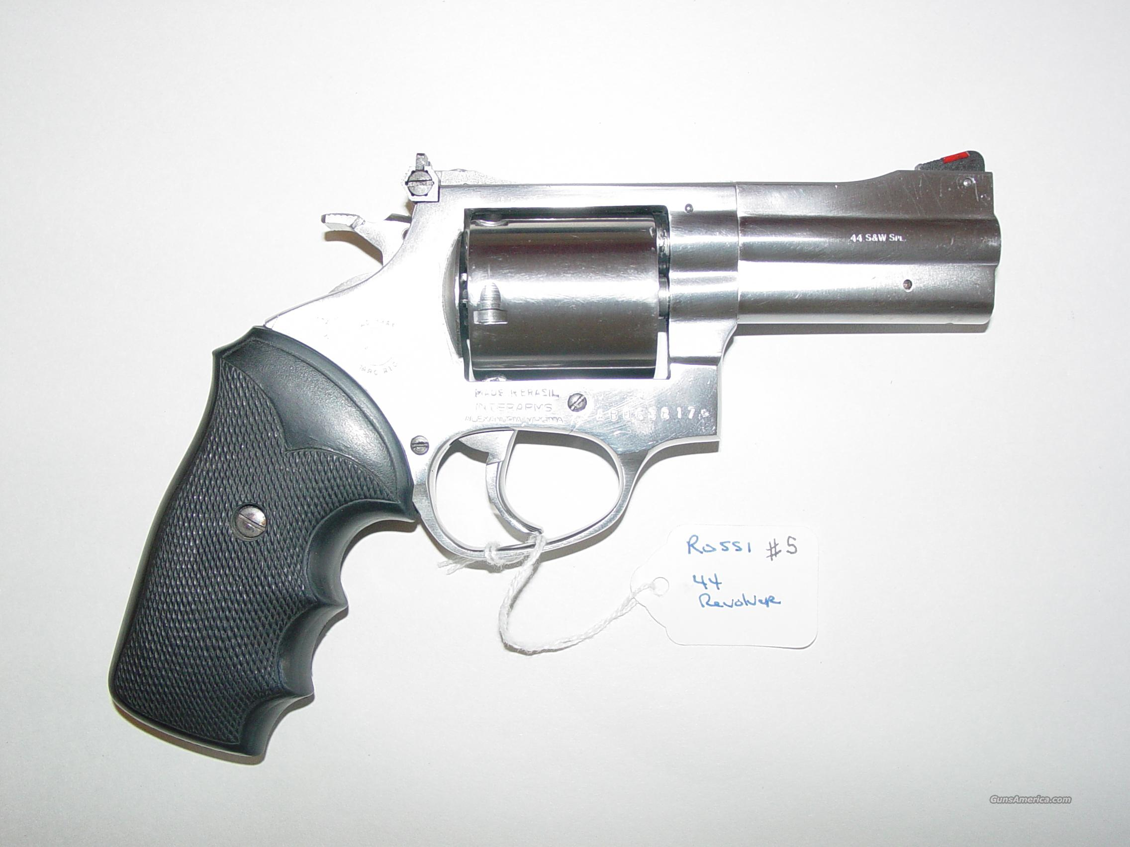 Rossi 720 Stainless .44 Special Revolver  Guns > Pistols > Rossi Revolvers