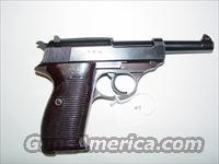 Walther P38 9mm with Nazi markings  Guns > Pistols > Walther Pistols > Pre-1945 > P-38