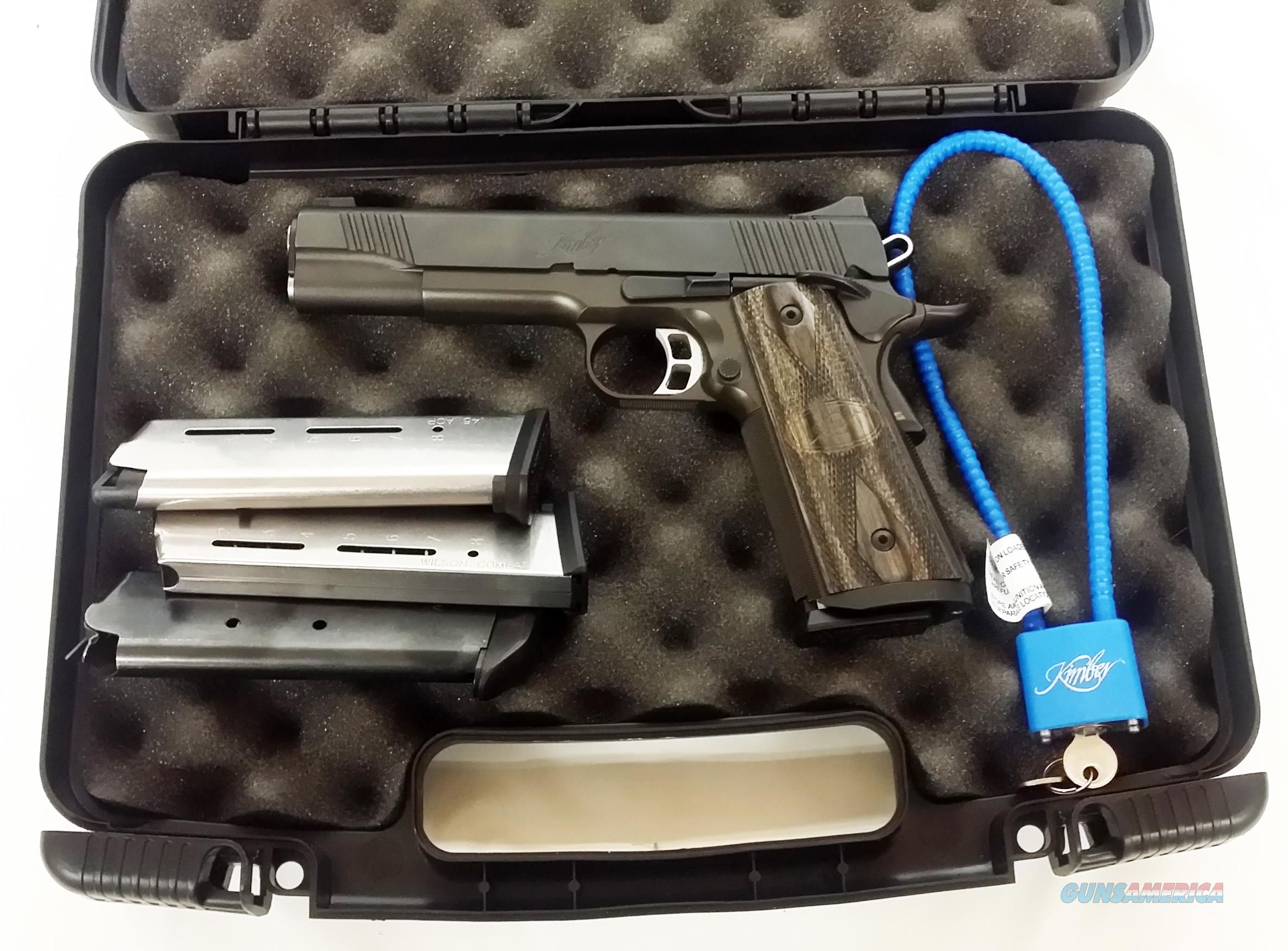 Kimber Tactical Custom II 1911 - 2 Mags  Guns > Pistols > 1911 Pistol Copies (non-Colt)