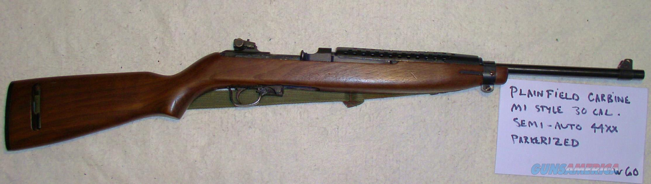 Patriot Auto Sales >> PLAINFIELD CARBINE M-1 MILITARY STYLE VIETNAM ... for sale