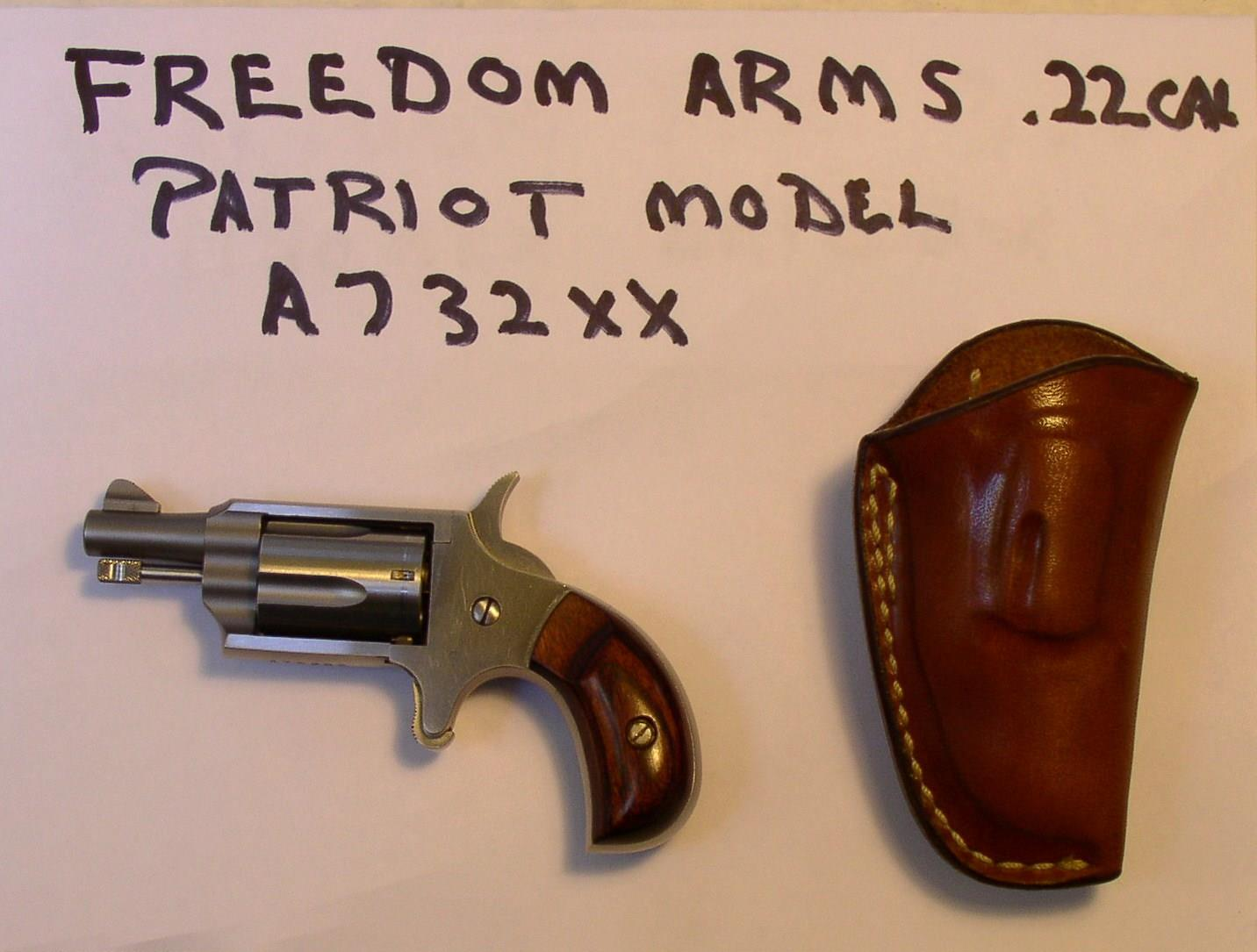 FREEDOM ARMS PATRIOT REVOLVER  Guns > Pistols > Freedom Arms Pistols