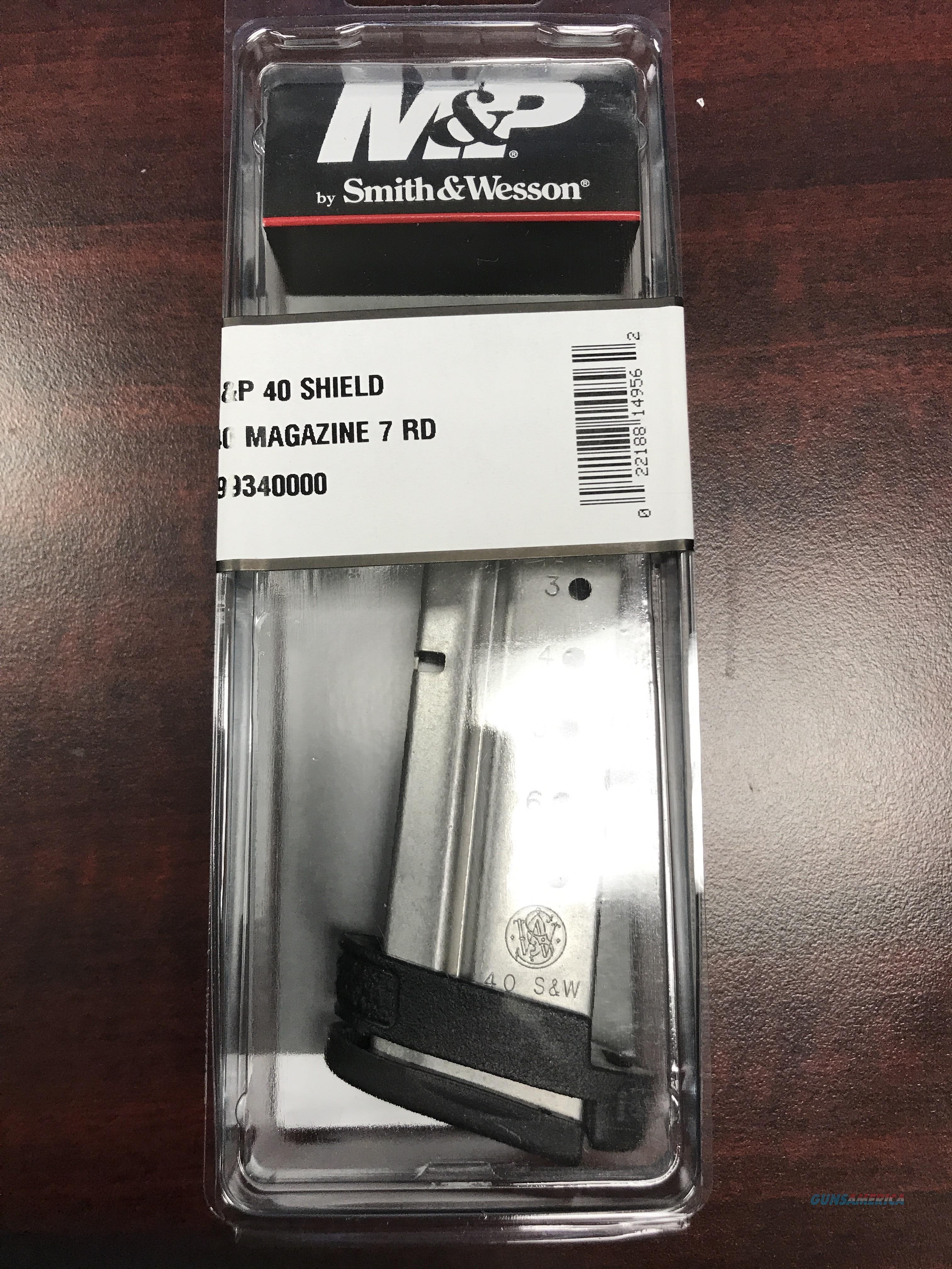S&W SHIELD 40 S&W 7RD MAG    FREE SHIPPING  Non-Guns > Magazines & Clips > Pistol Magazines > Smith & Wesson