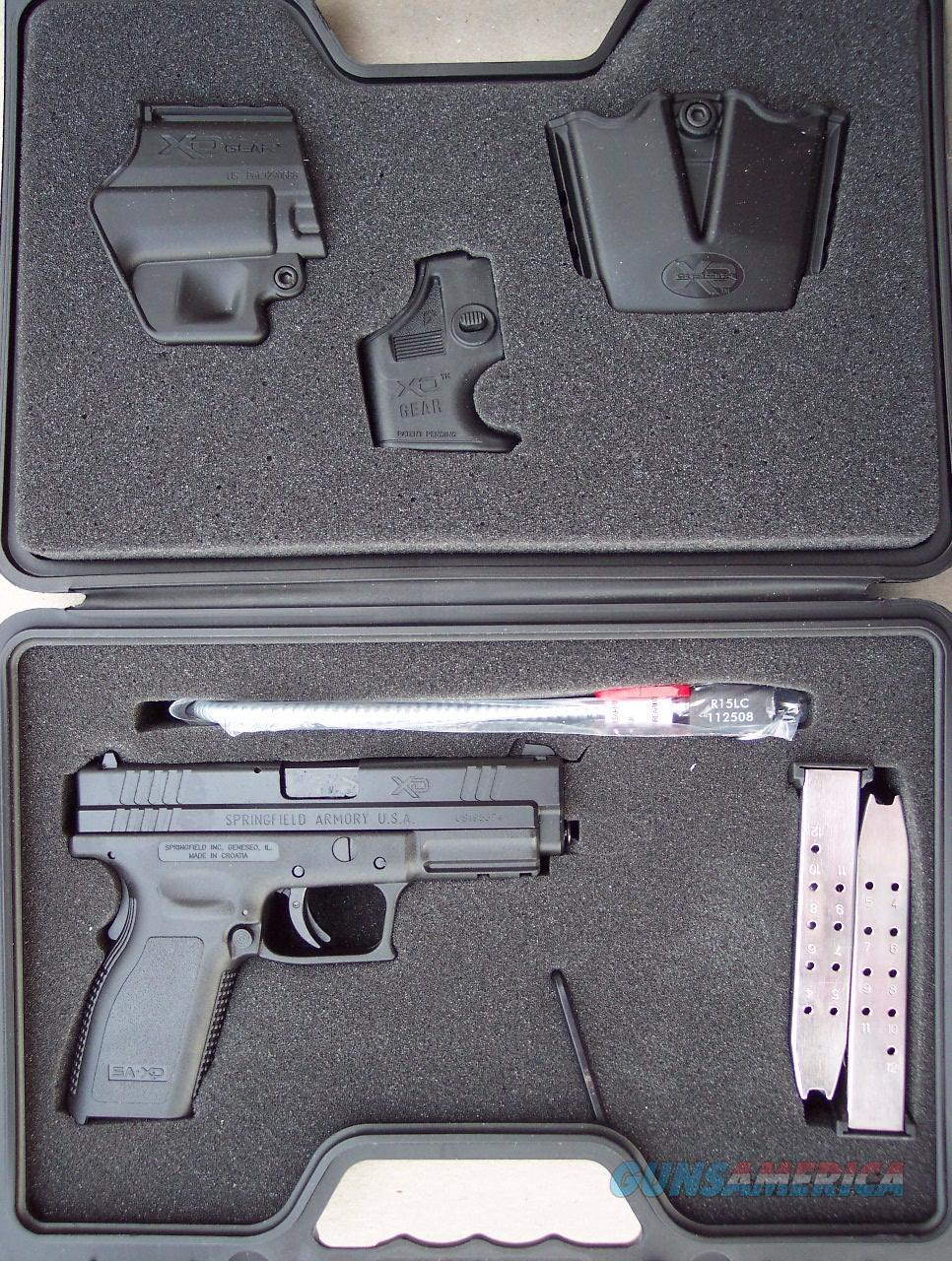 NIB Springfield XD-9, 9MM with Night Sights  Guns > Pistols > Springfield Armory Pistols > XD (eXtreme Duty)