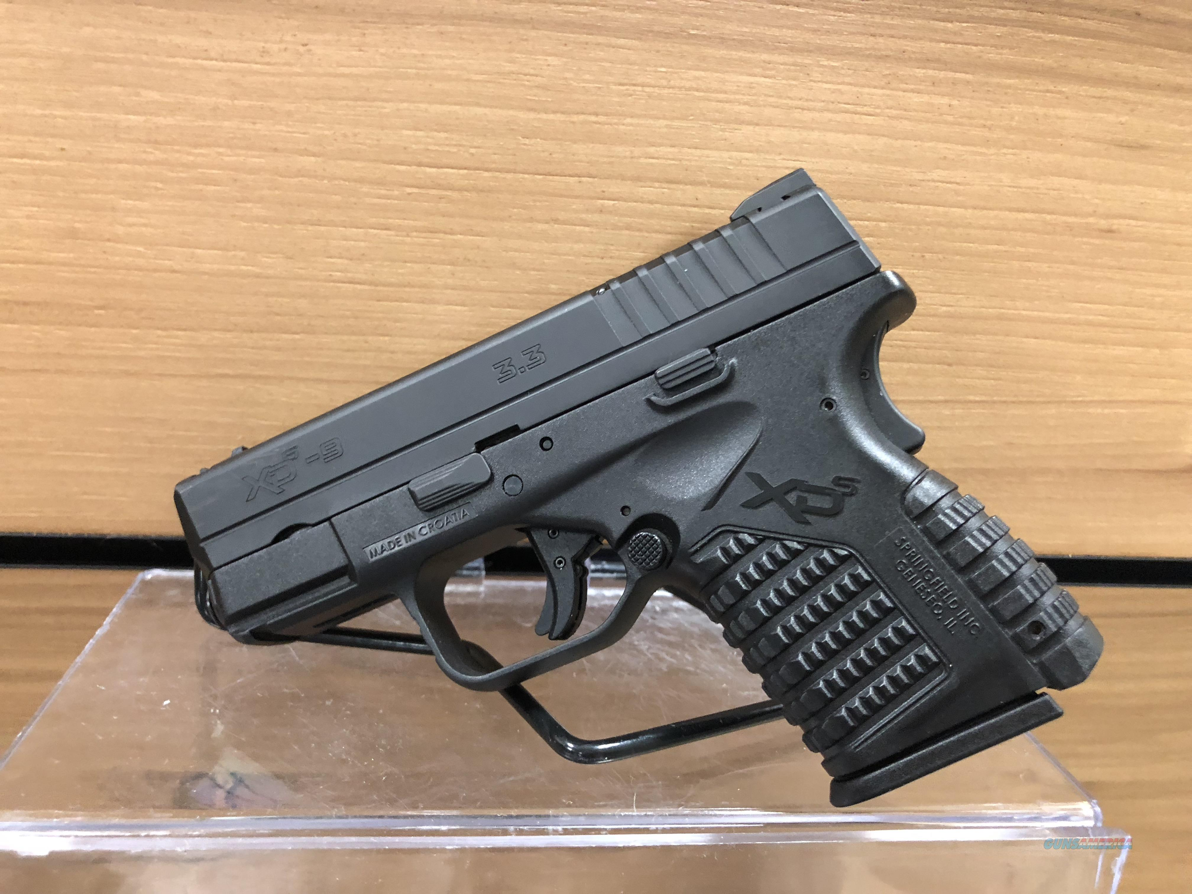 USED SPRINGFIELD XDS, 9MM  Guns > Pistols > Springfield Armory Pistols > XD-S