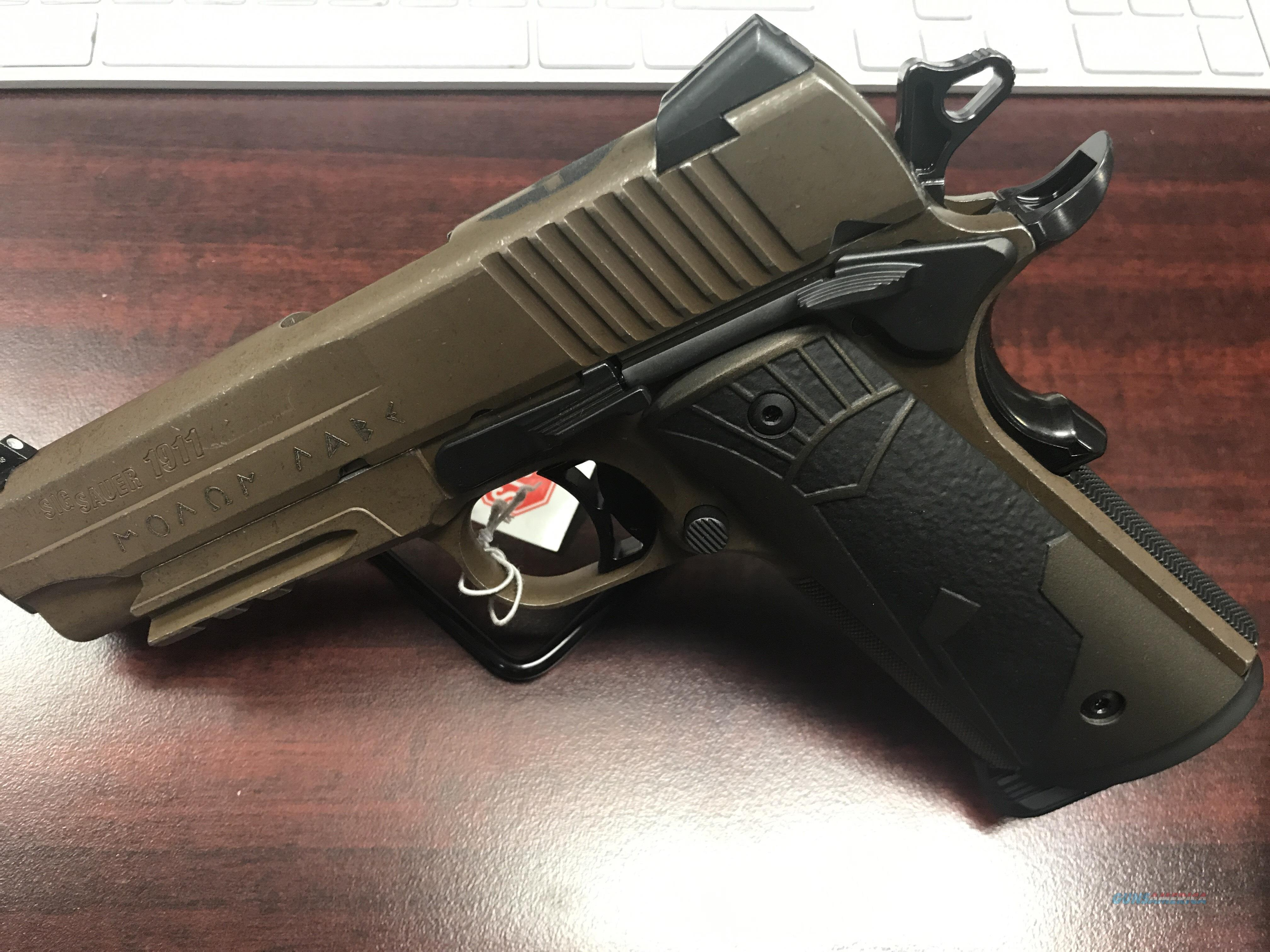 SIG SPARTAN CARRY II 45 ACP-FREE AMMO-FREE SHIPPING  Guns > Pistols > Sig - Sauer/Sigarms Pistols > 1911