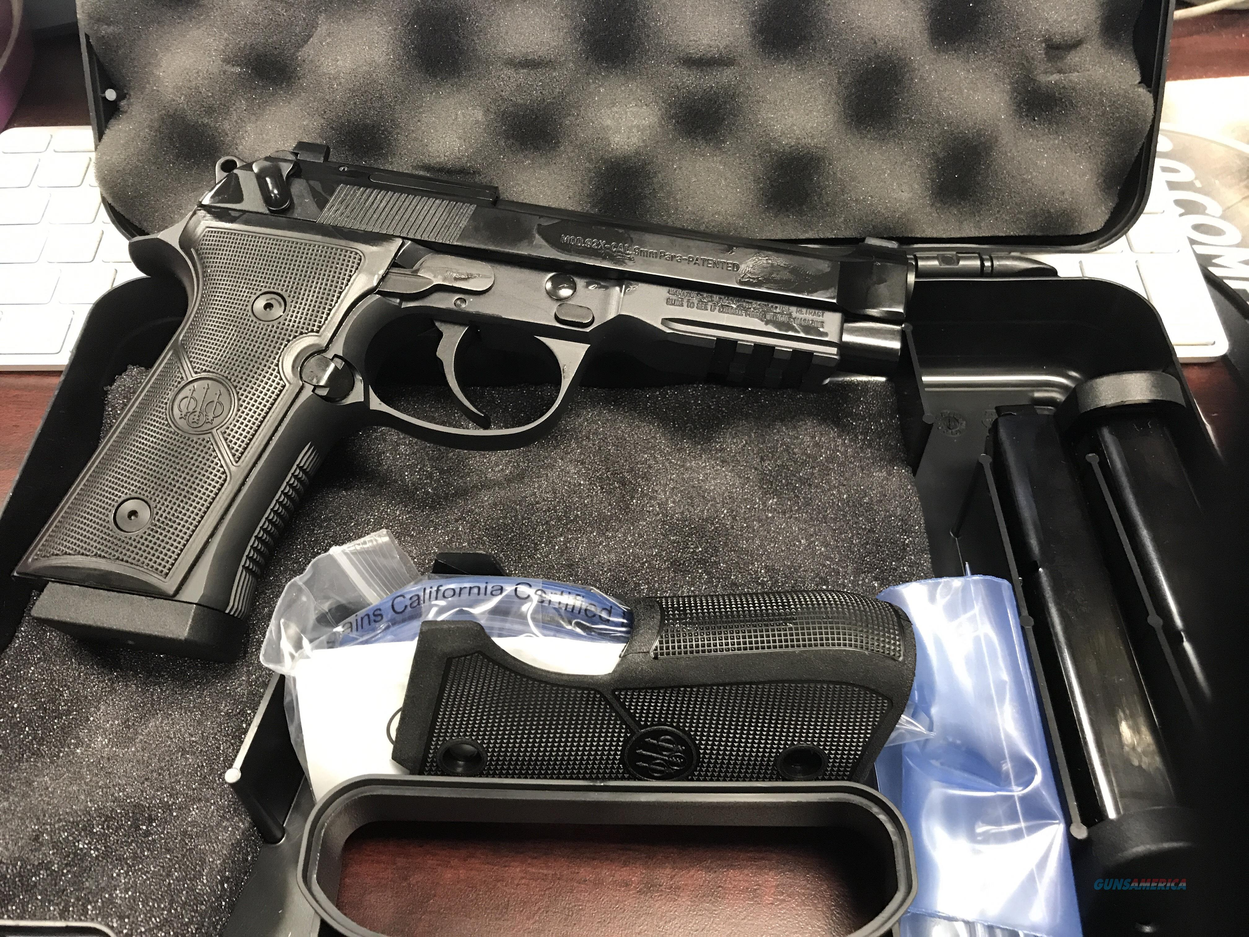 BERETTA 92X FR 9MM             FREE SHIPPING  Guns > Pistols > Beretta Pistols > Model 92 Series