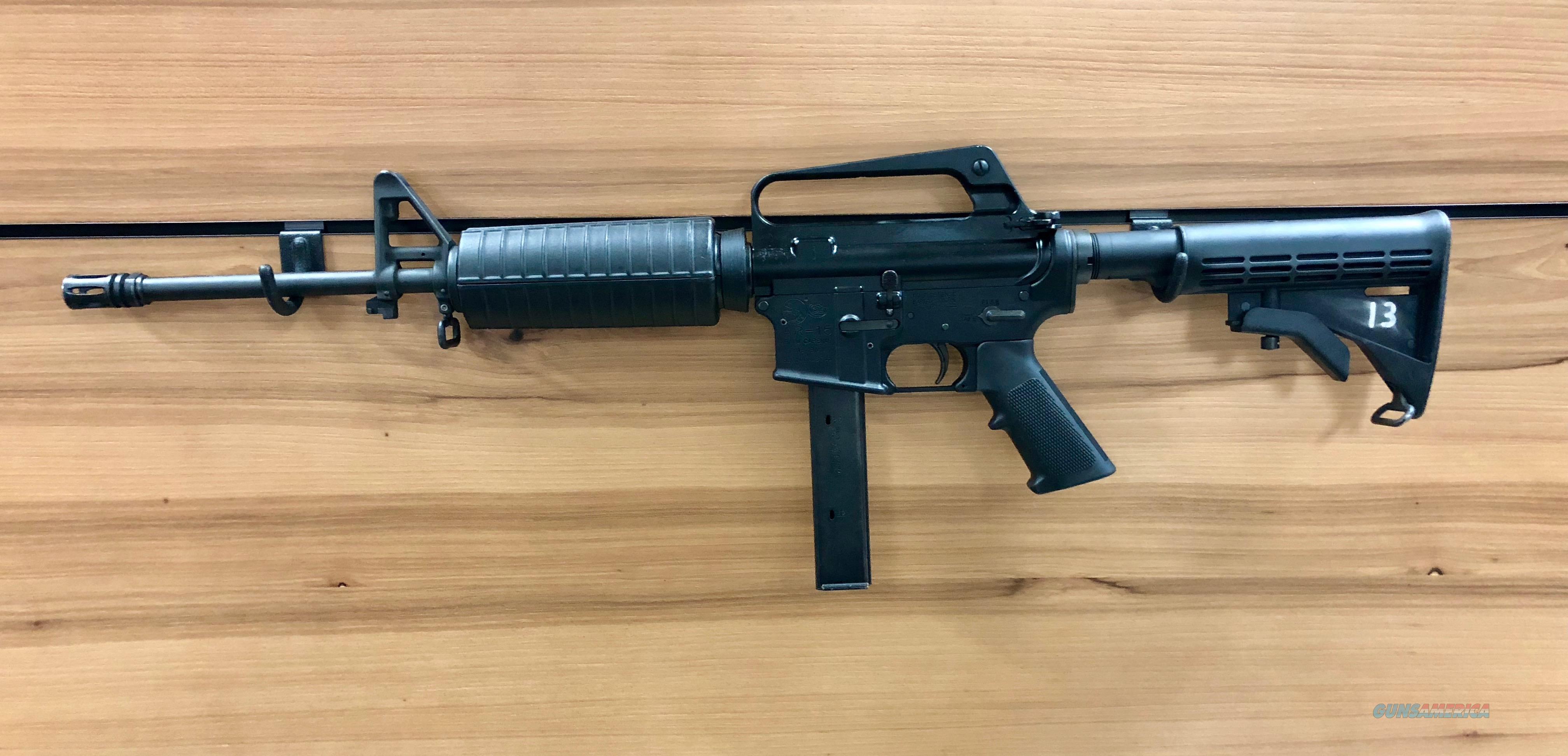USED COLT AR6450 AR-15, 9MM CARBINE  Guns > Rifles > Colt Military/Tactical Rifles