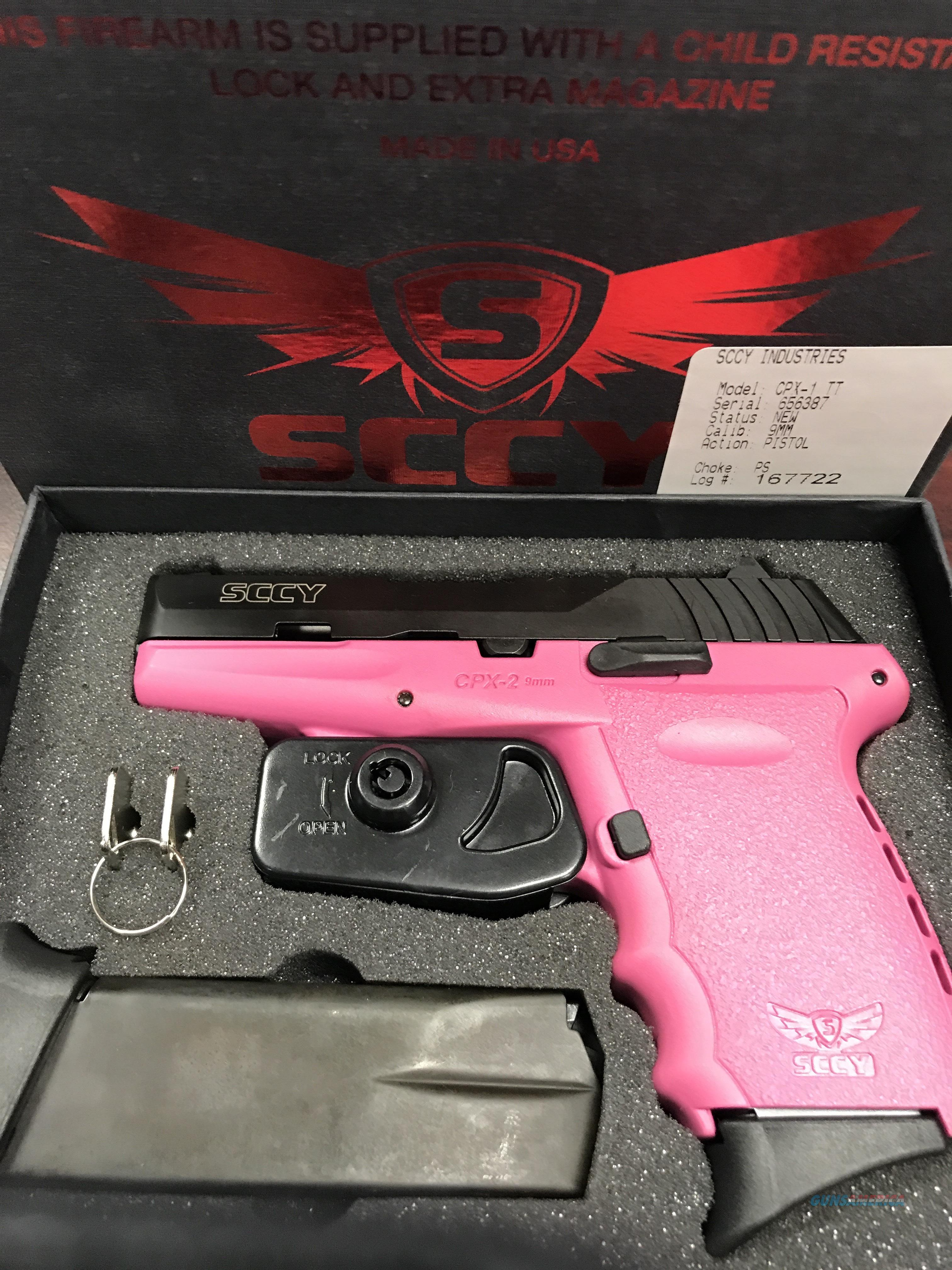 SCCY CPX-2  9MM                       FREE SHIPPING  Guns > Pistols > SCCY Pistols > CPX1