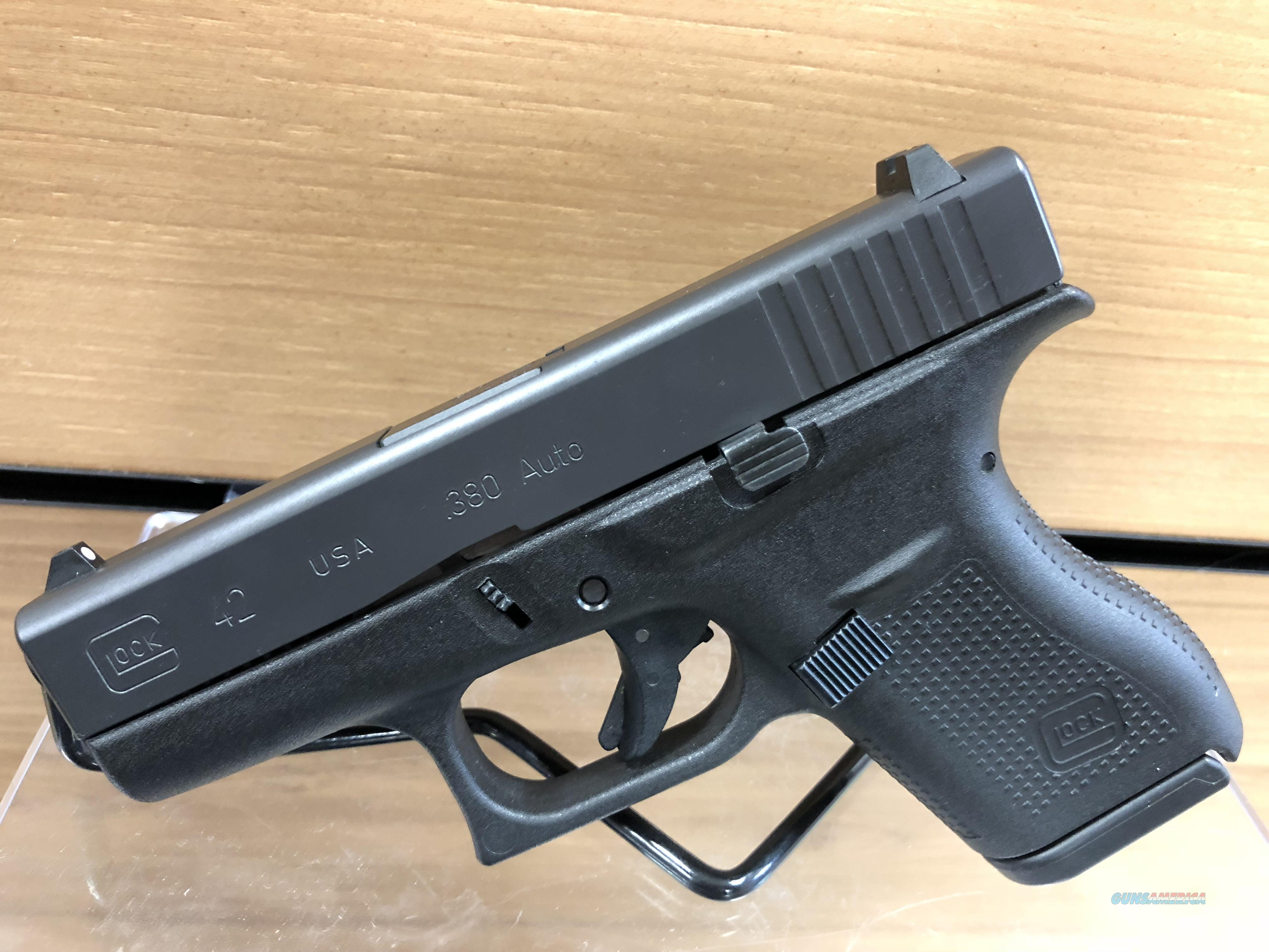 USED GLOCK 42, .380ACP  Guns > Pistols > Glock Pistols > 42