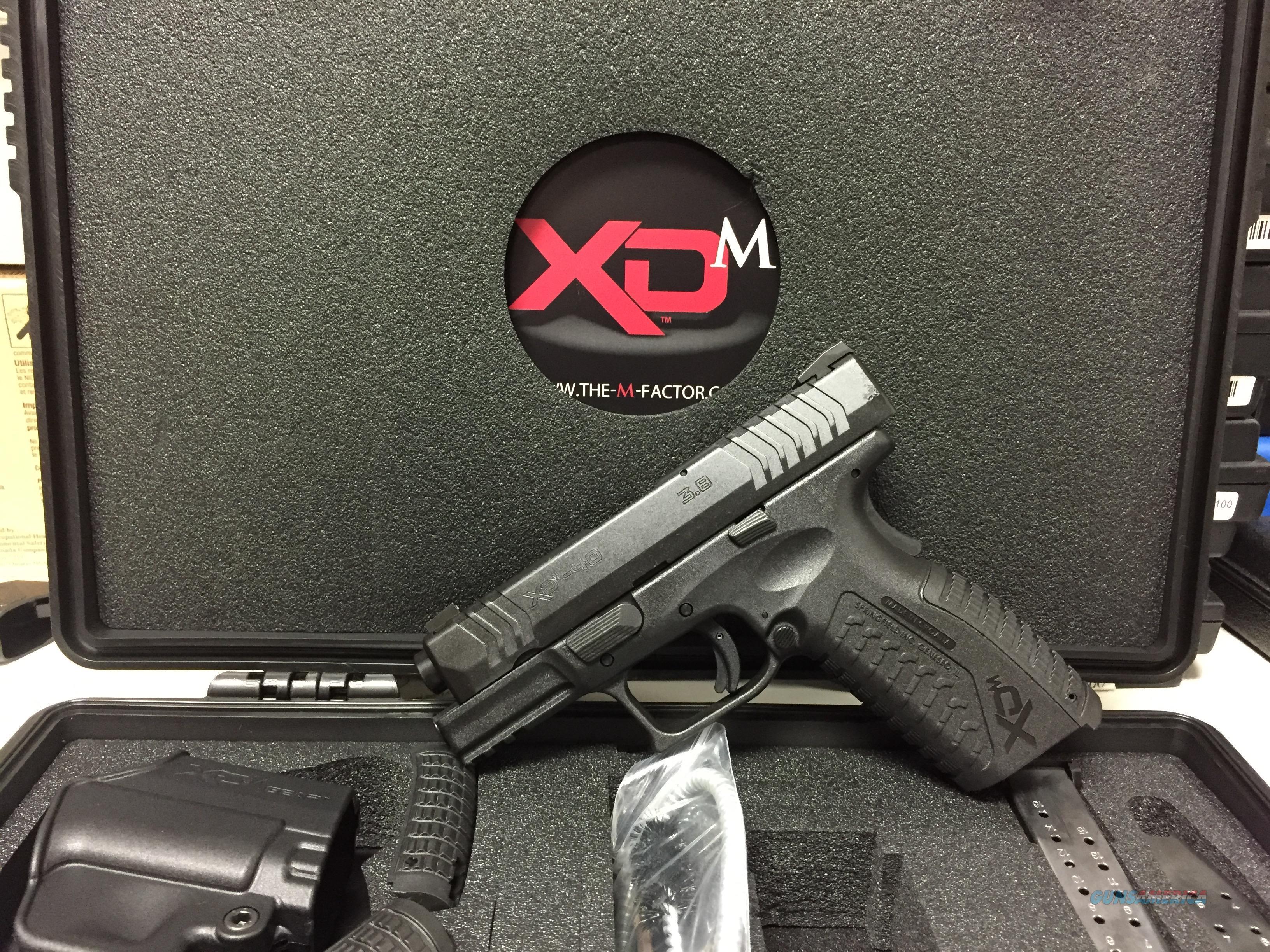 NIB Springfield XDM-40, 40S&W, Night Sights  Guns > Pistols > Springfield Armory Pistols > XD-M