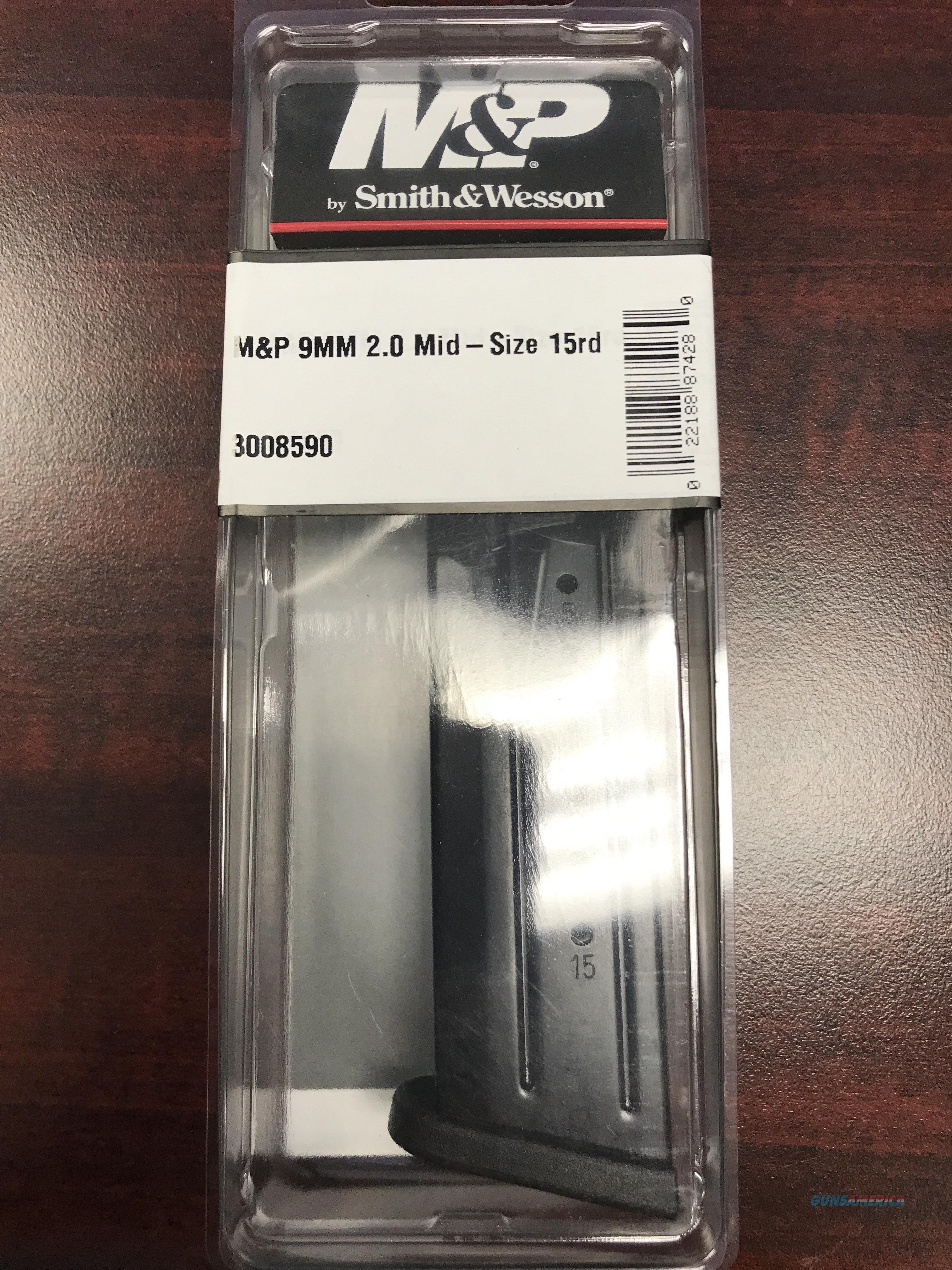 SMITH & WESSON M&P 2.0 9MM 15RD MAG  (FREE SHIPPING)  Non-Guns > Magazines & Clips > Pistol Magazines > Smith & Wesson