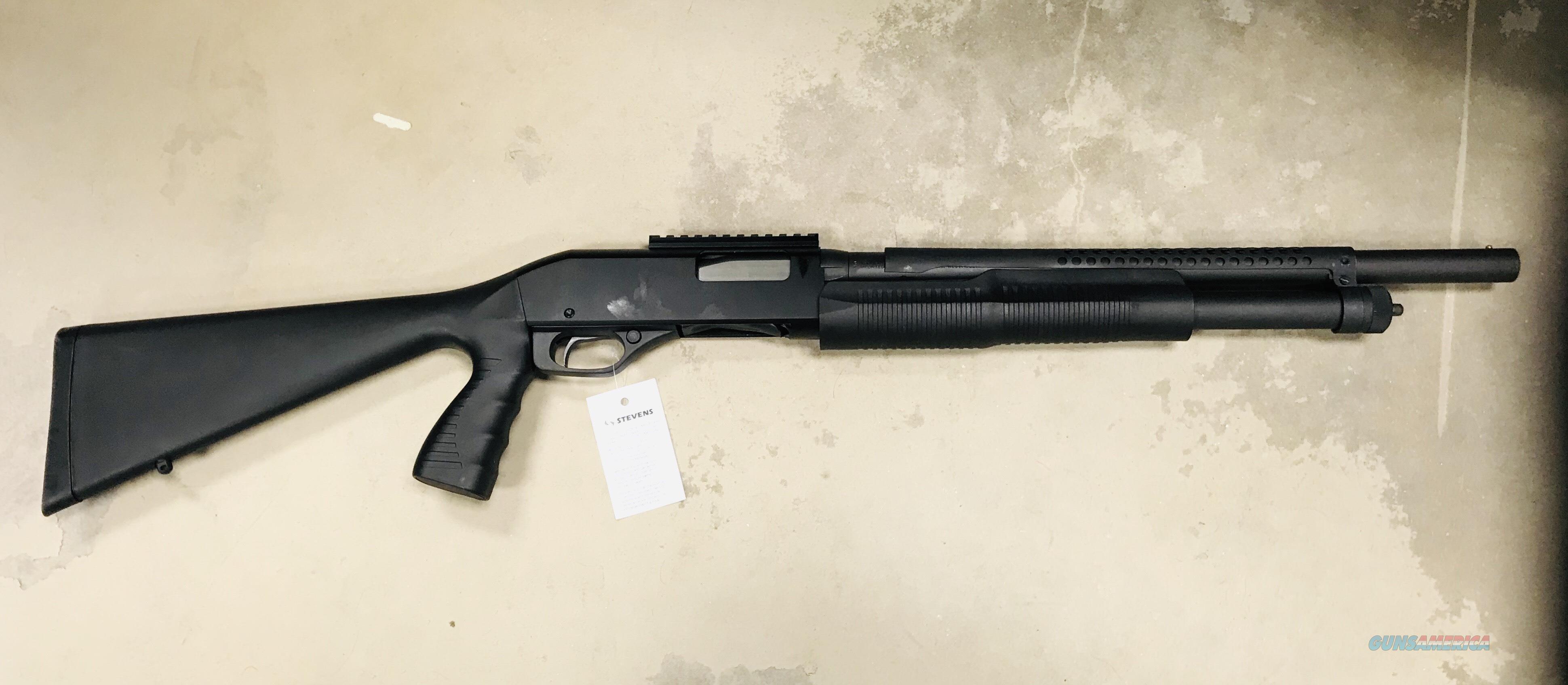 "SAVAGE STEVENS 320 12GA 18"" HEAT SHIELD      FREE SHIPPING  Guns > Shotguns > Stevens Shotguns"