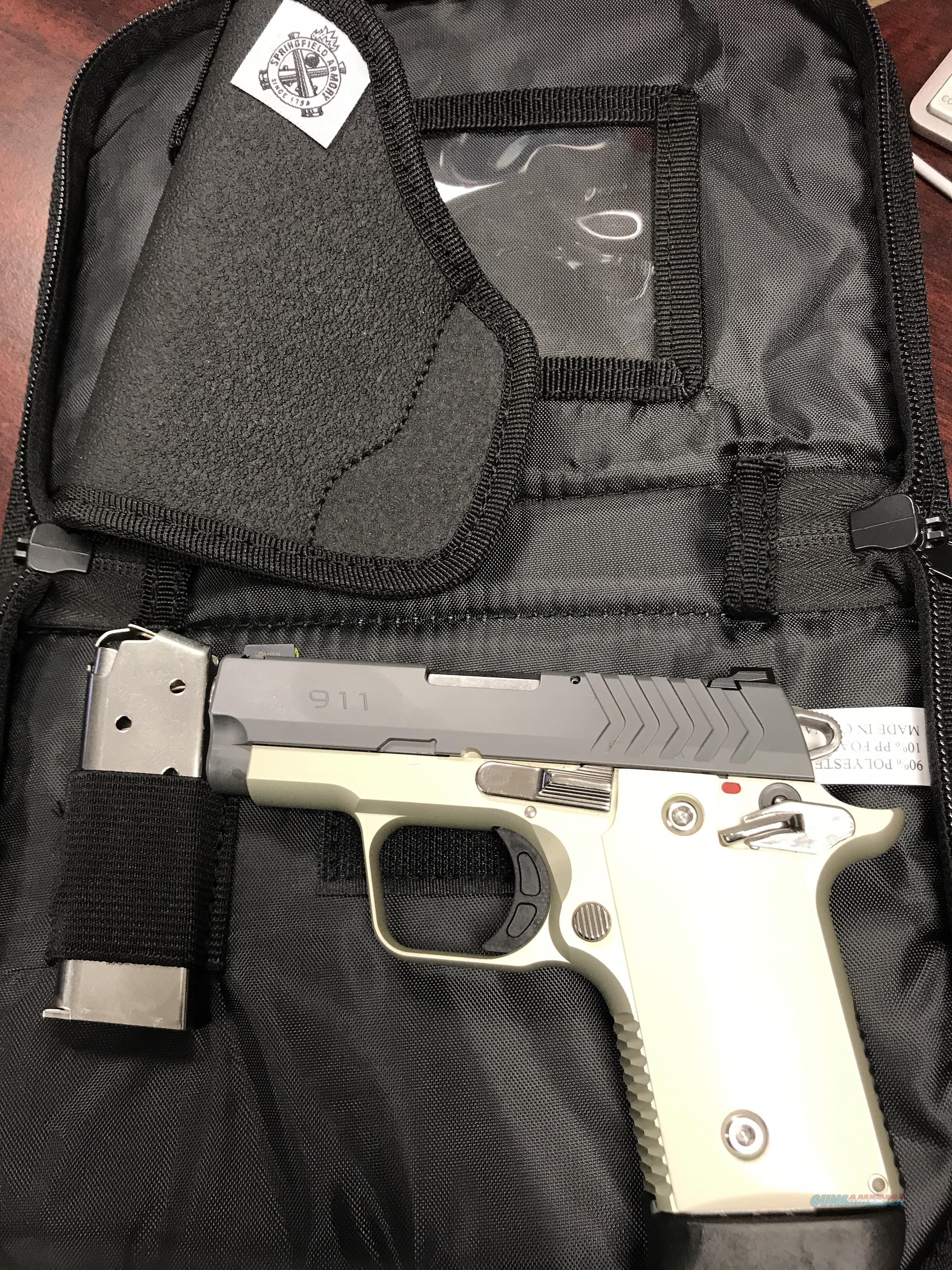 SPRINGFIELD 911 PLATNUM 380    FREE SHIPPING  Guns > Pistols > Springfield Armory Pistols > 911