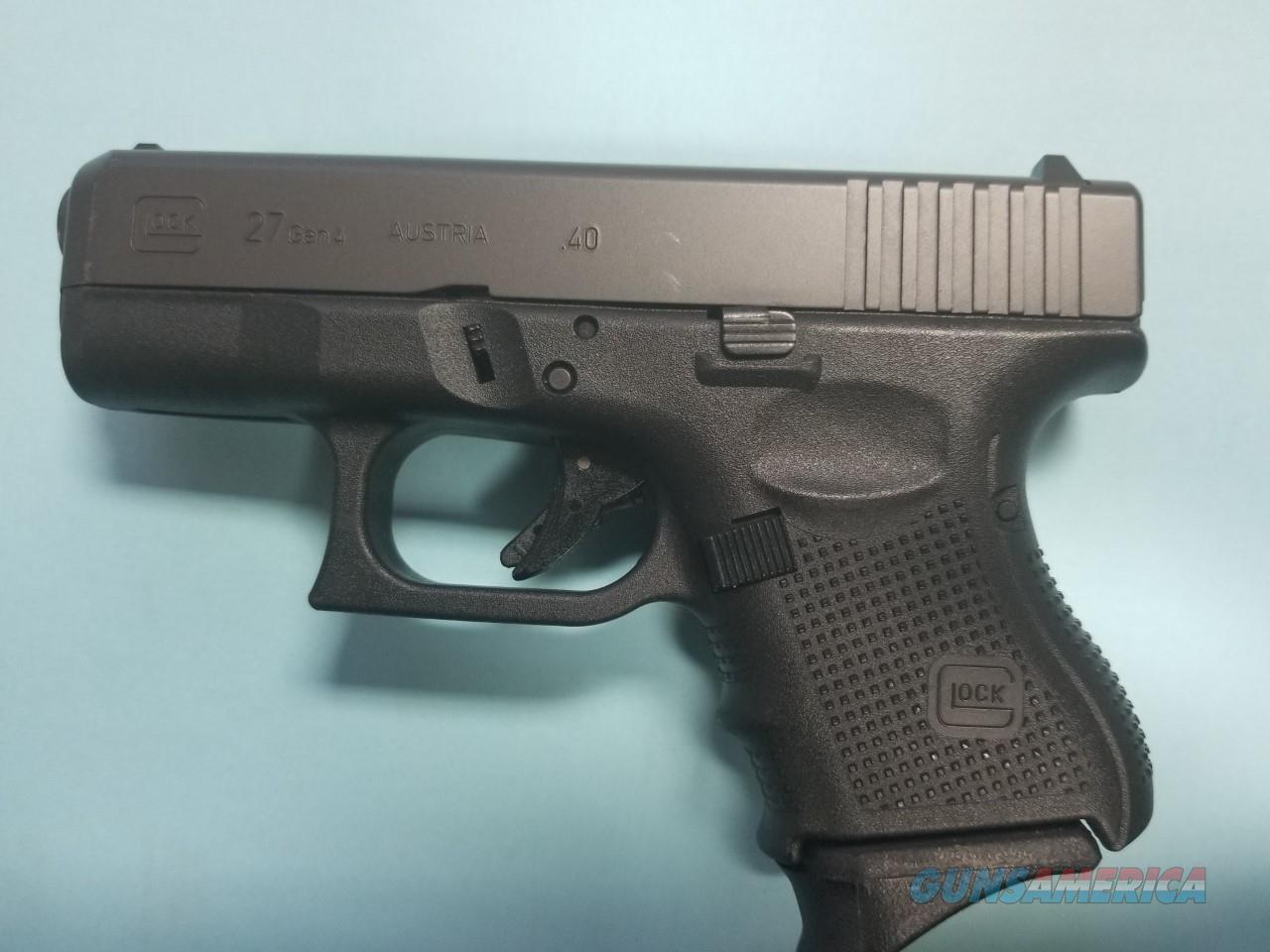 USED GLOCK 27 GEN-4, 40S&W, WITH BOX  Guns > Pistols > Glock Pistols > 26/27