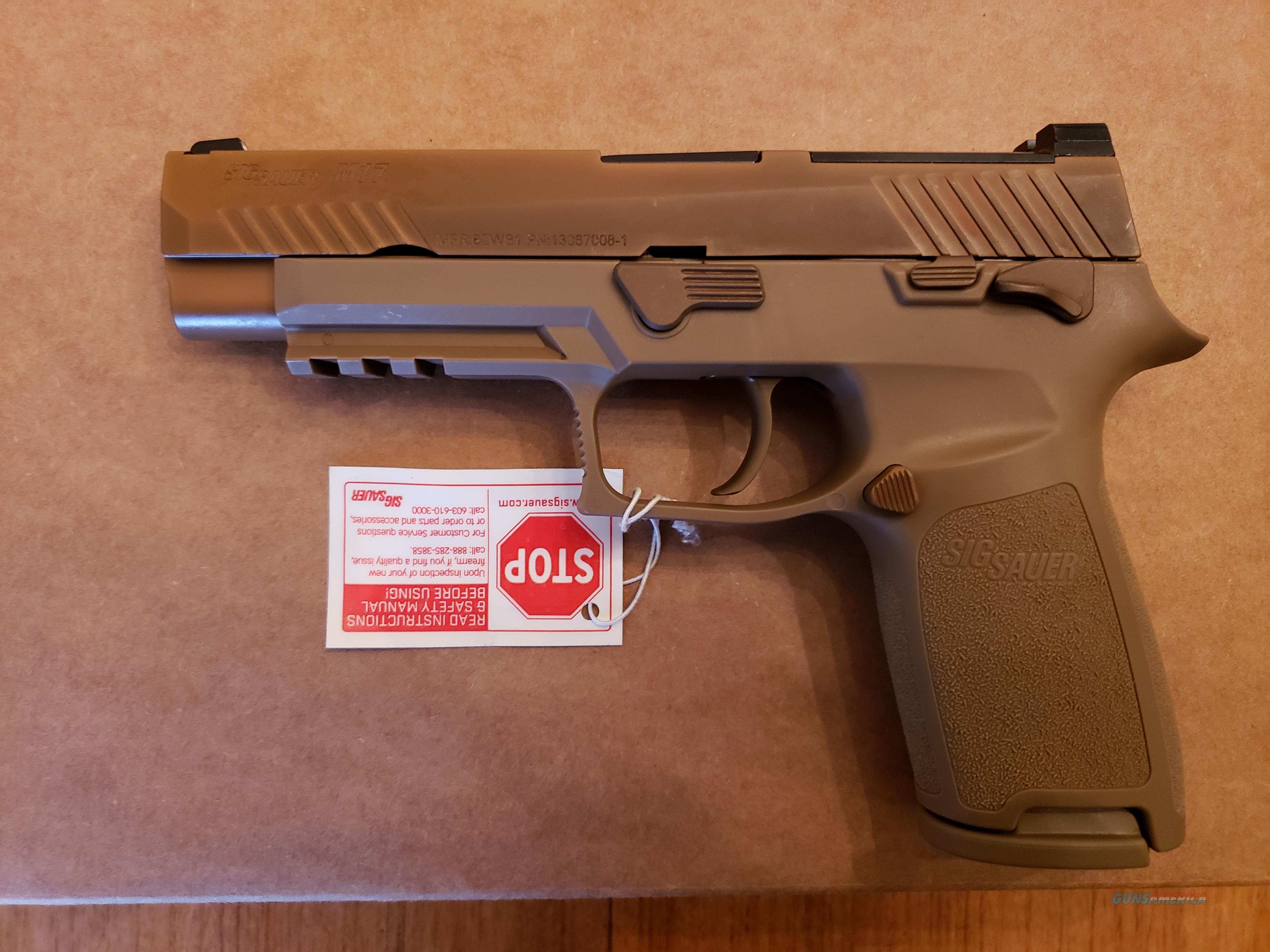SIG Sauer M17- Commemorative Model  Guns > Pistols > Sig - Sauer/Sigarms Pistols > P320