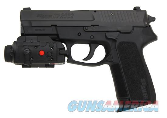 Sig Sauer Sp2022 9mm W Sig Tac Flashlight Lase For Sale