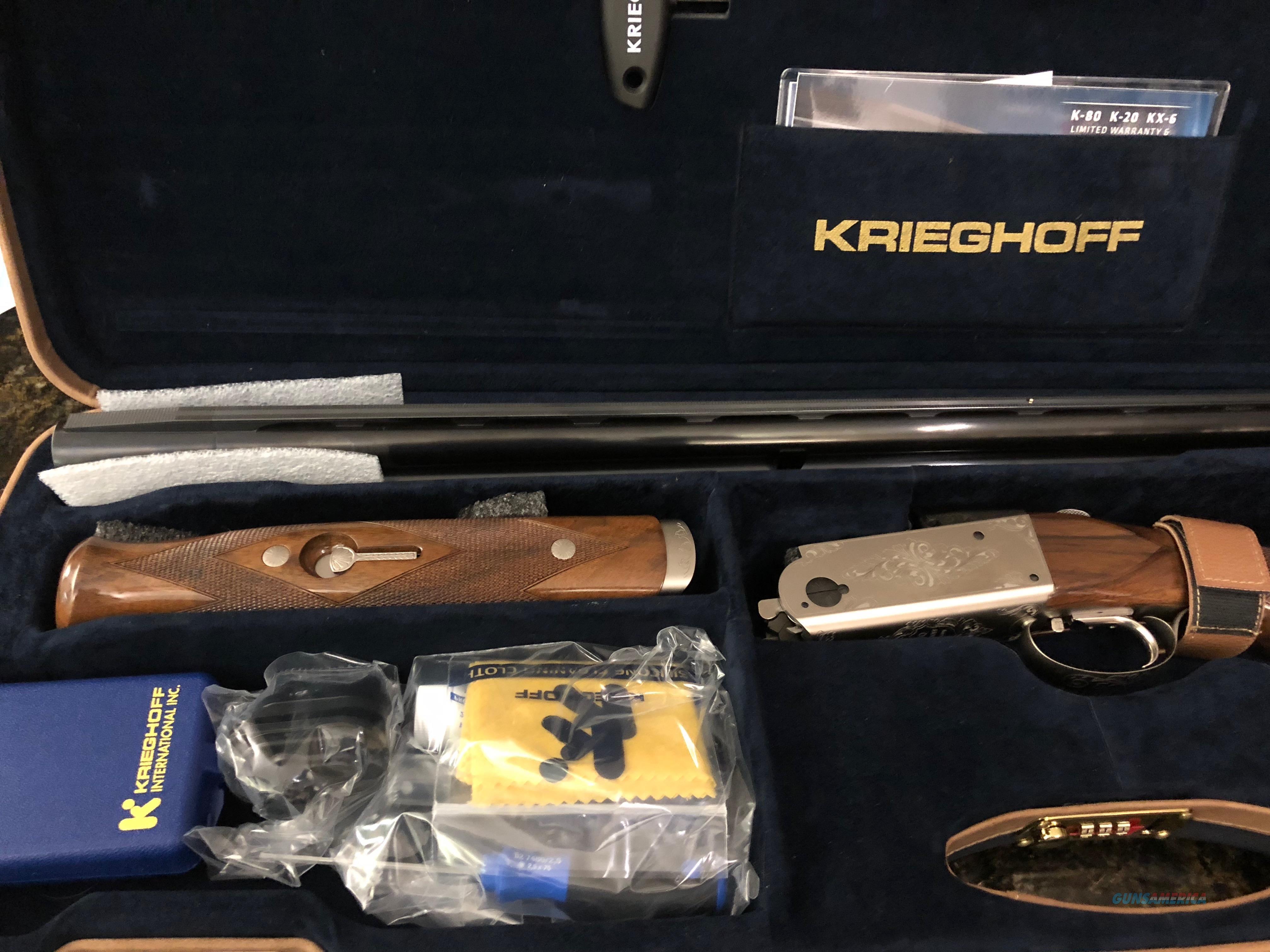 Kriegsoff K80, Sporting shotgun.  Guns > Shotguns > Krieghoff Shotguns