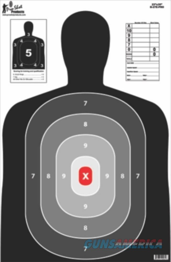 "Pro Shot 5 Pack Pro Silhouette Targets 23x35""  Non-Guns > Targets > Paper Targets > Standard"