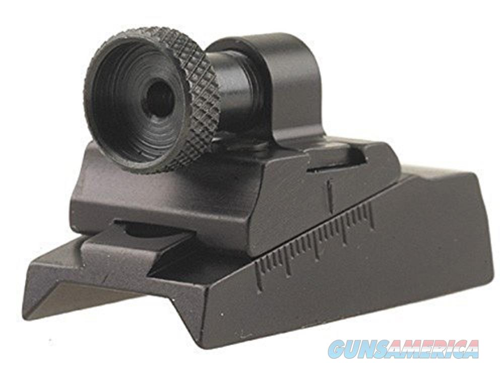Williams Wgrs Cva Octagon Peep Sight Black 44737  Non-Guns > Iron/Metal/Peep Sights