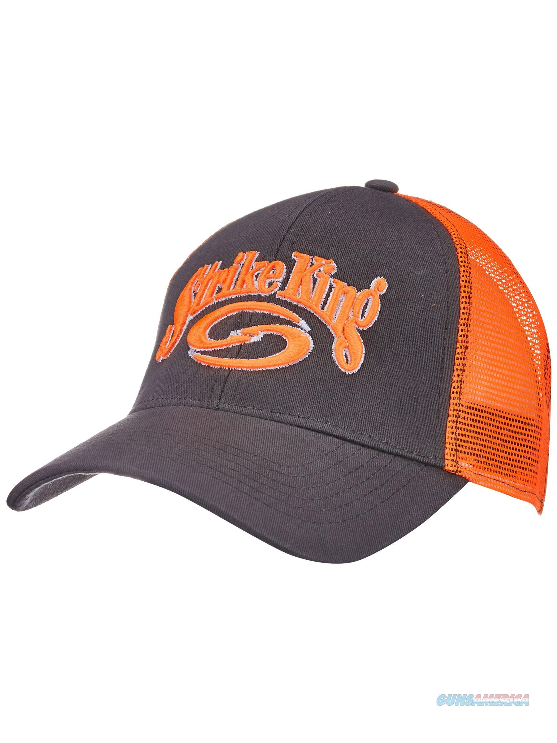 Strike King Trucker Cap Charcoal Neon  Non-Guns > Hunting Clothing and Equipment > Clothing > Hats