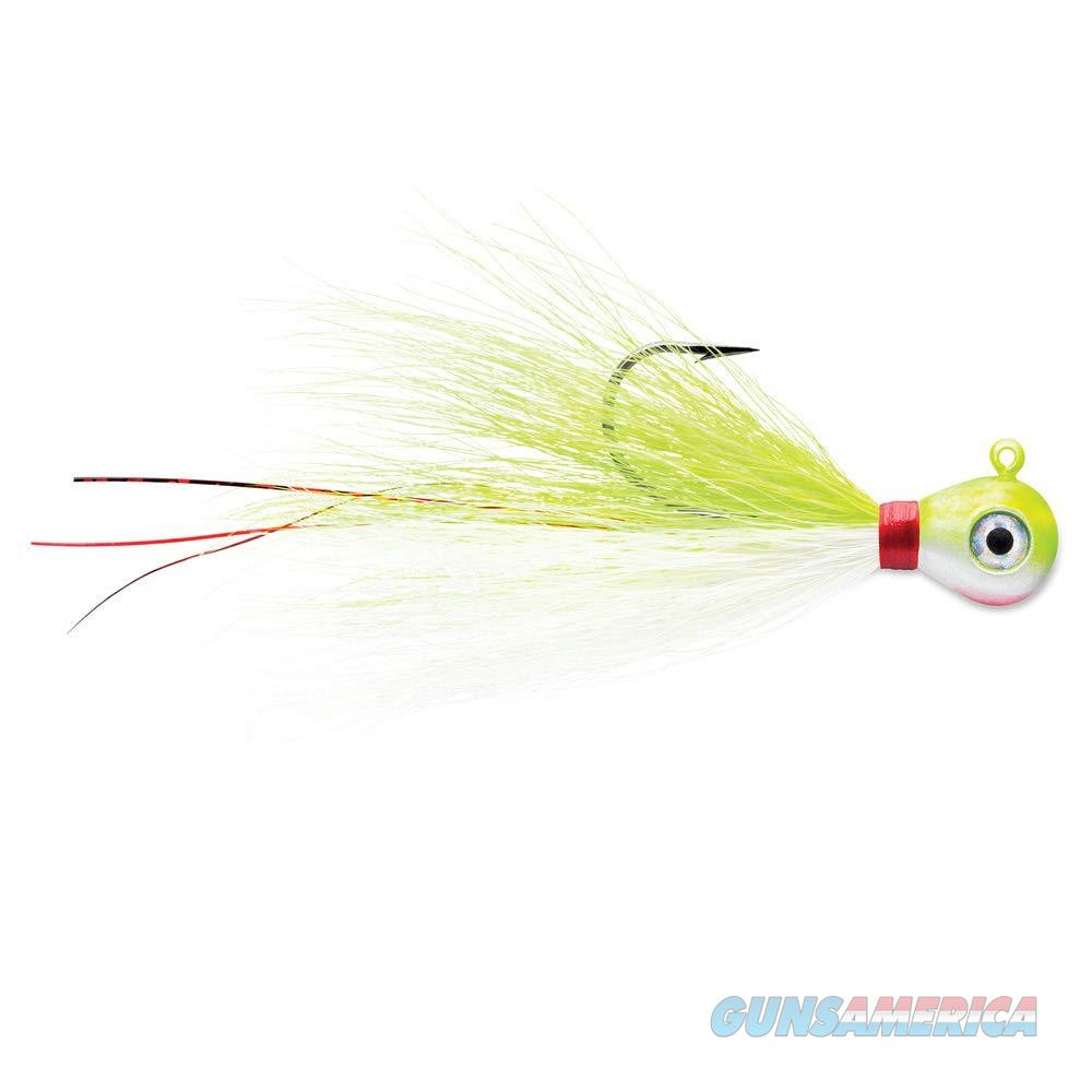 VMC Bucktail Jig 1/8 Oz 2 Pack Charteuse White  Non-Guns > Fishing/Spearfishing
