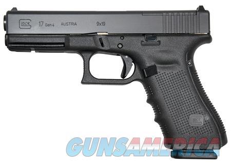 """Glock 17 Gen4 MOS 9 mm PG1750203MOS NIB 4.48"""" BBL  Guns > Pistols > Glock Pistols > 17"""