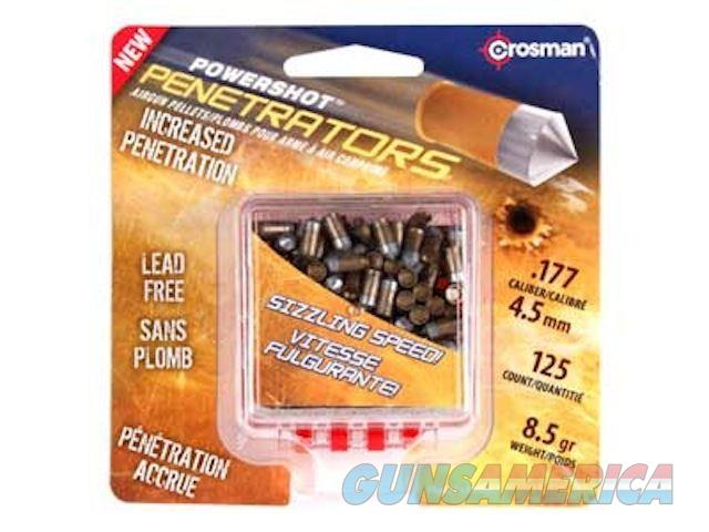Crosman .177 Powershot Gold Flight Pellets 125 Ct  Non-Guns > Air Rifles - Pistols > Adult High Velocity