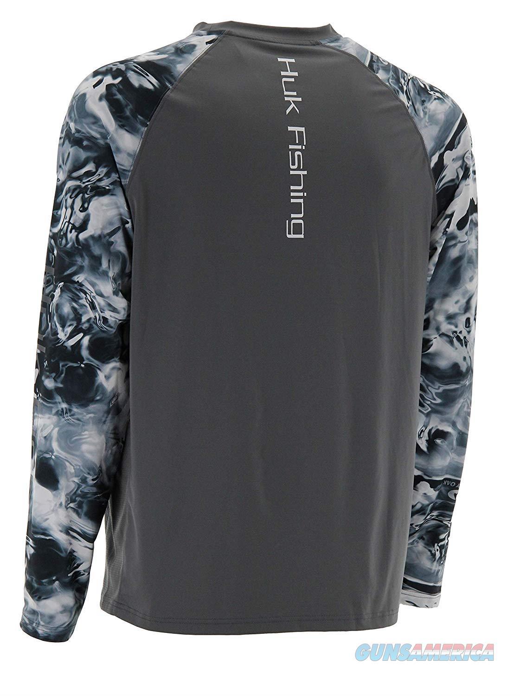 Huk Camo Vented LS 2XL Iron  Non-Guns > Hunting Clothing and Equipment > Clothing > Shirts