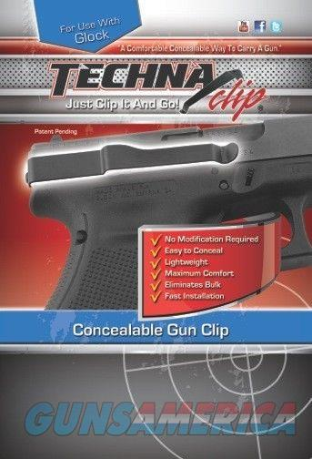Techna Clip Concealable Fits Glock Ambi GLOCK-BRL  Non-Guns > Holsters and Gunleather > Concealed Carry