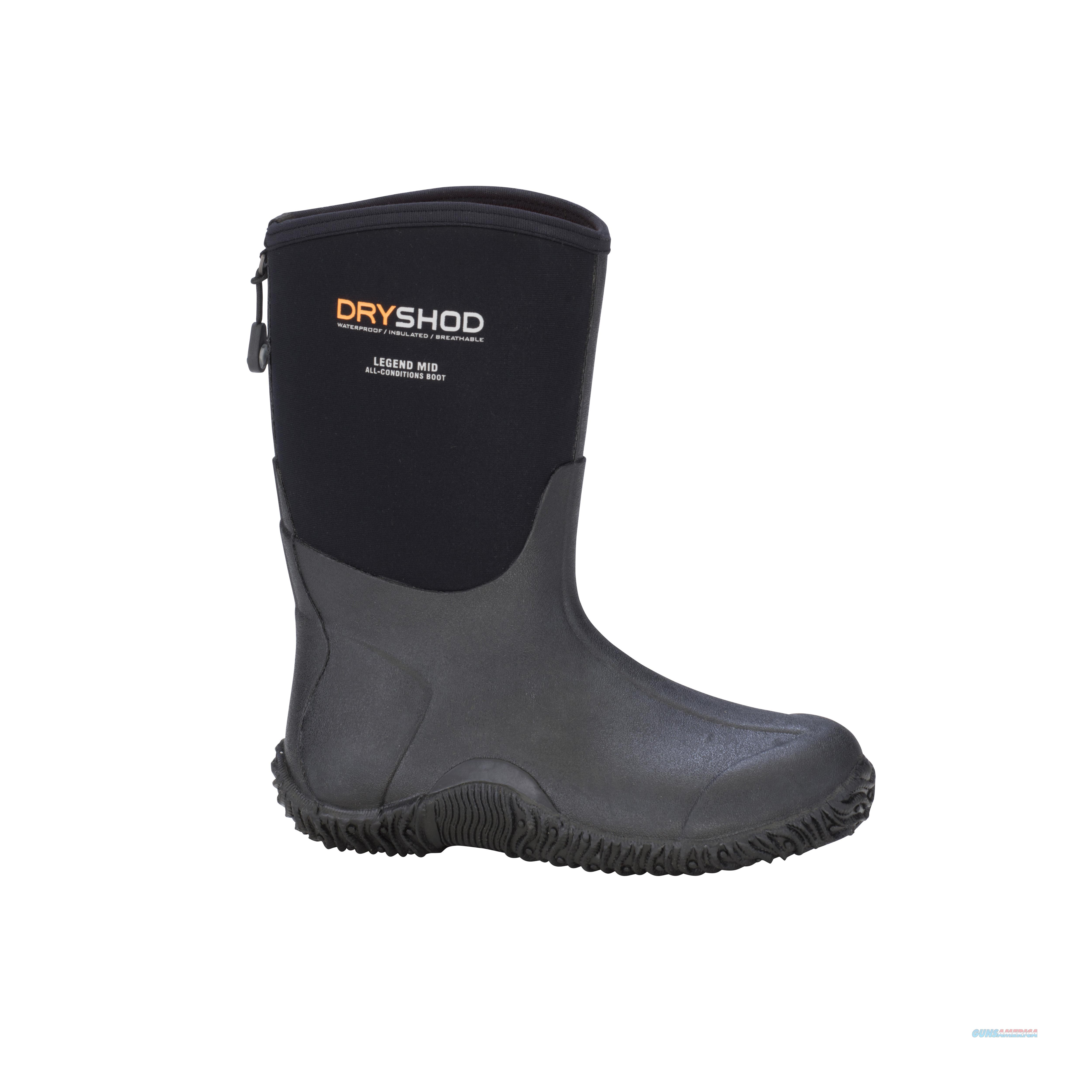 Dryshod Legend Mid Cut Boot Size 10  Non-Guns > Hunting Clothing and Equipment > Clothing > Camo Outerwear
