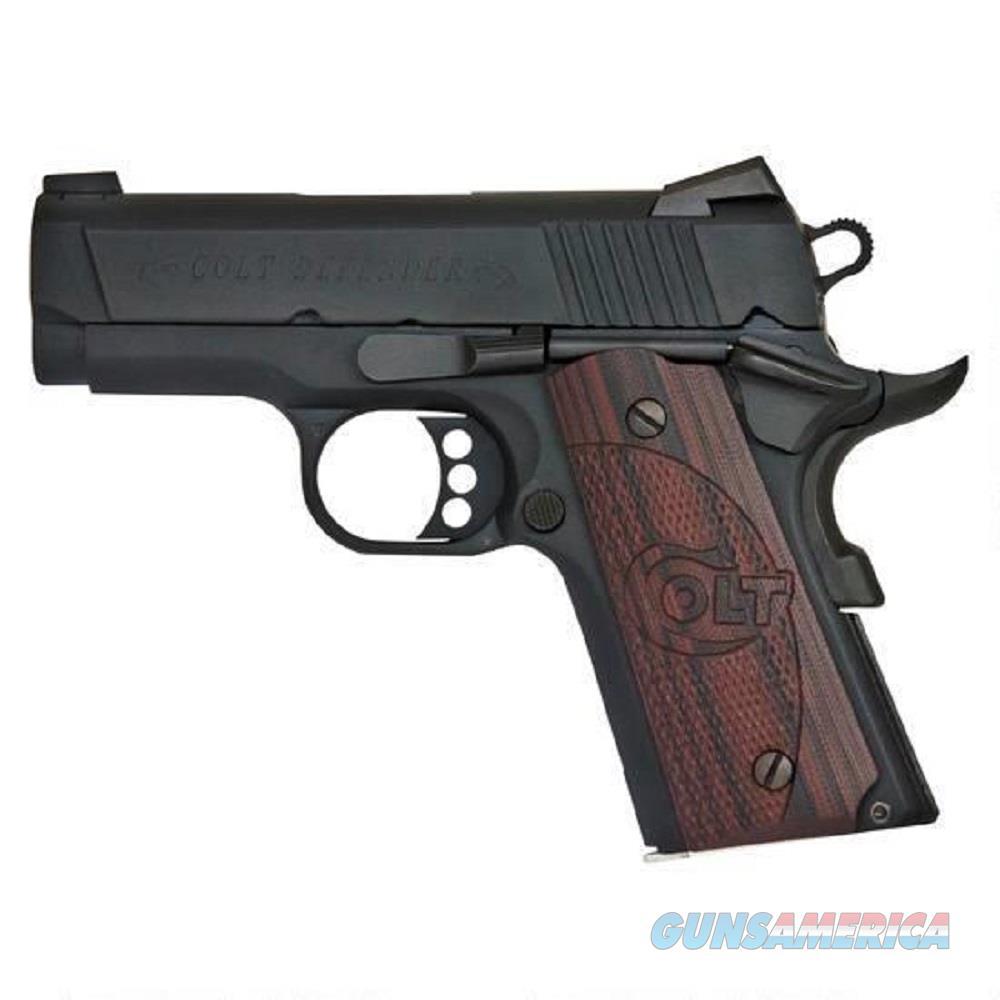 """Colt Defender 9 mm 3"""" Barrel 8 RND NIB O7802XE 9MM  Guns > Pistols > Colt Automatic Pistols (1911 & Var)"""