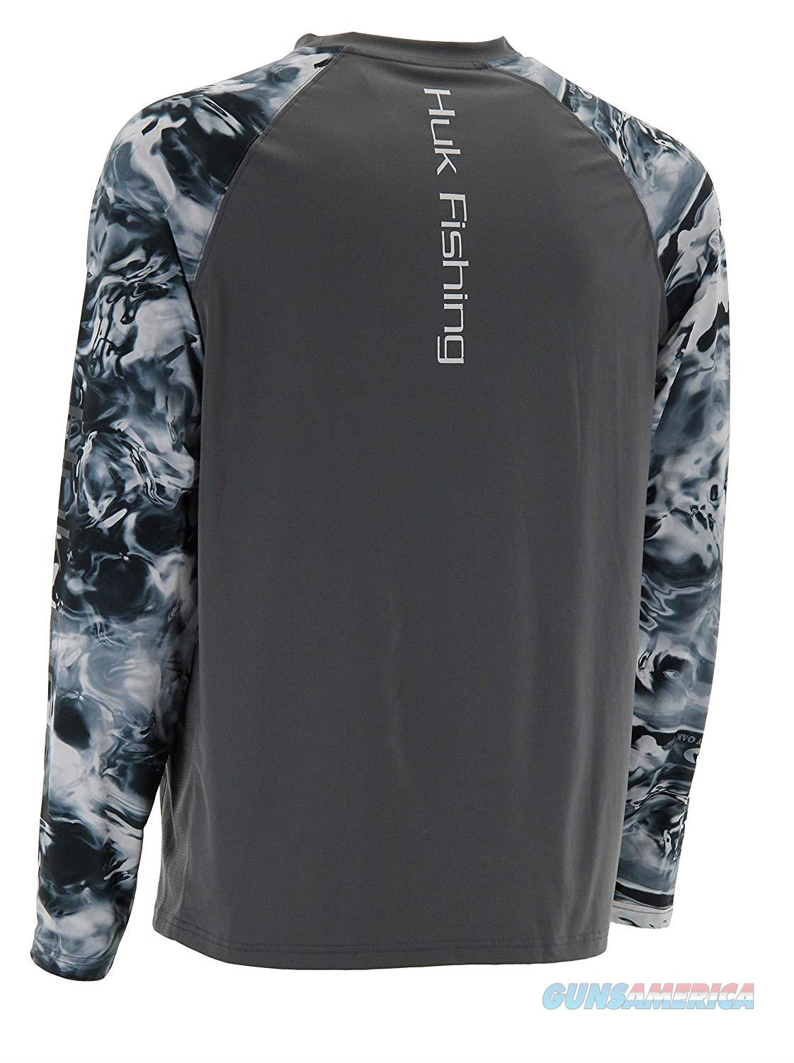 Huk Camo Vented LS LG Iron  Non-Guns > Hunting Clothing and Equipment > Clothing > Shirts