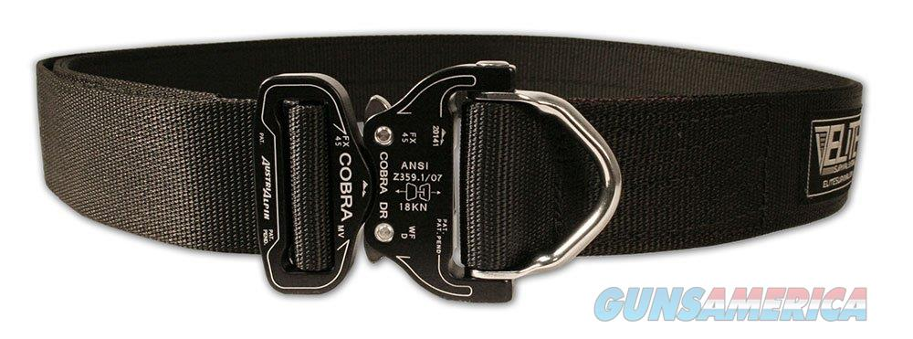 Elite Survival Cobra Riggers Belt Large Black  Non-Guns > Holsters and Gunleather > Police Belts/Holsters