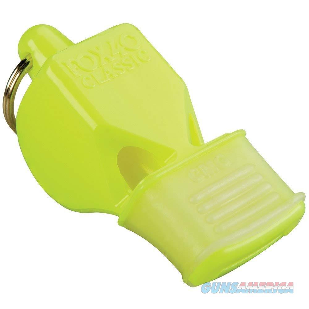 Fox 40 Classic CMG Safety Whistle Yellow  Non-Guns > Miscellaneous