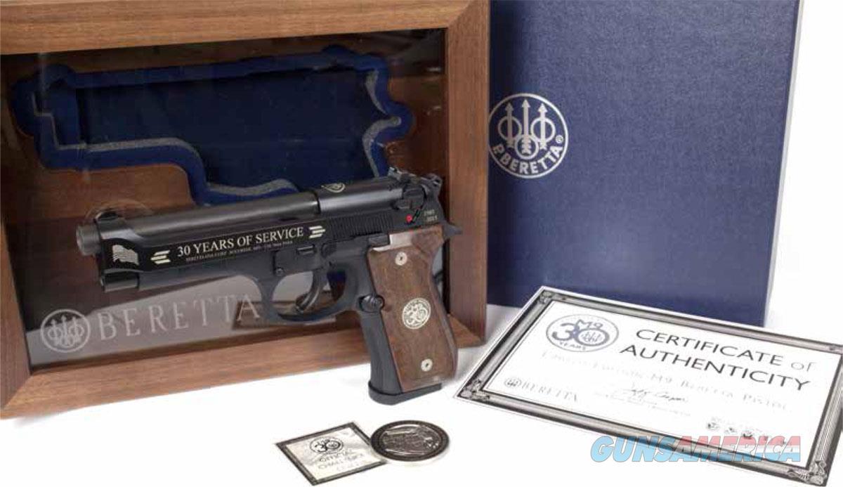 Beretta M9 30th Anniversary 9 MM NIB SPEC0603A  Guns > Pistols > Beretta Pistols > Model 92 Series