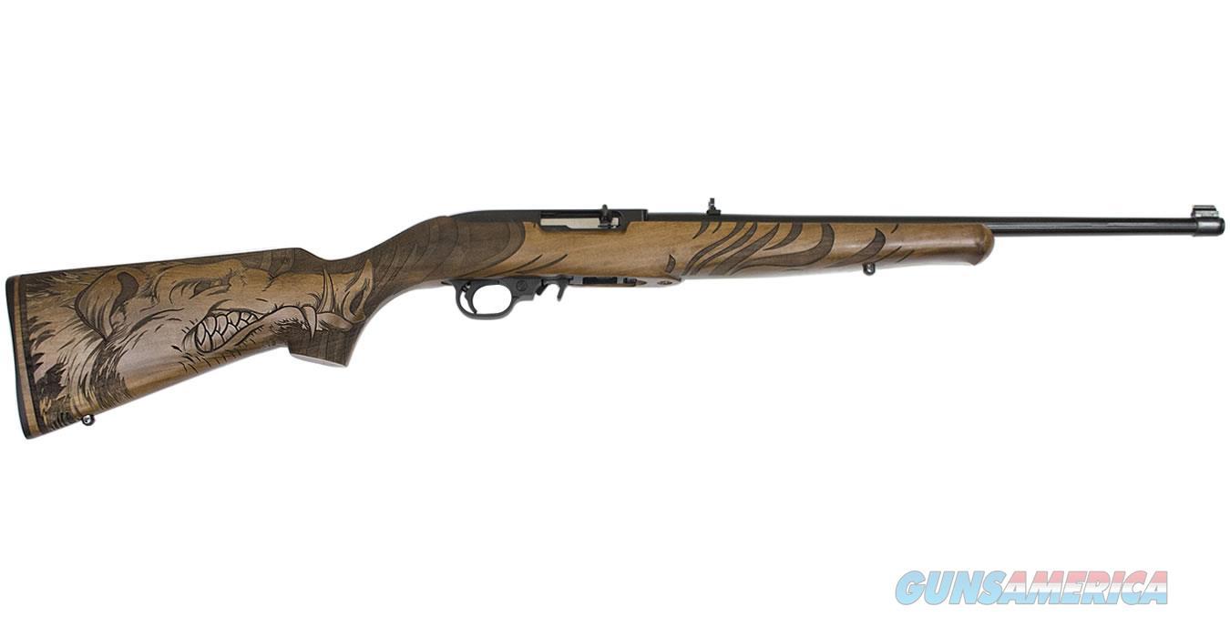 "Ruger 10/22 22 LR 18.5"" BBL 21168 NIB Wild Hog Eng  Guns > Rifles > Ruger Rifles > 10-22"
