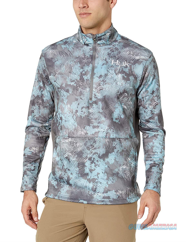 Huk Tidewater 1/4 Zip Glacier Medium  Non-Guns > Hunting Clothing and Equipment > Clothing > Shirts