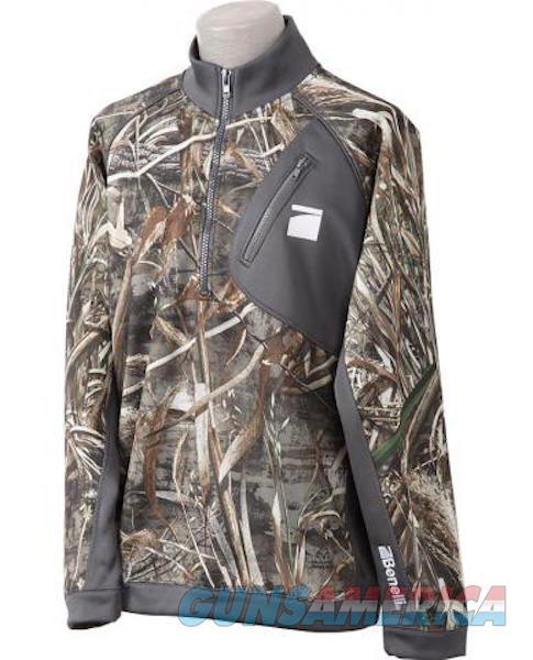 Benelli Performance Pullover Jacket Max 5 Camo Med  Non-Guns > Shotgun Sports > Vests/Jackets