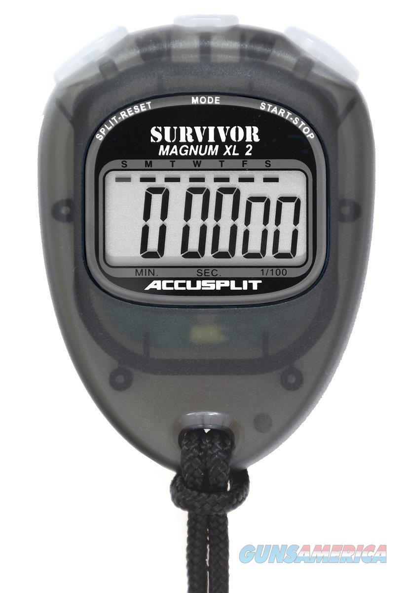 Accusplit Survivor II Stopwatch Black  Non-Guns > Miscellaneous