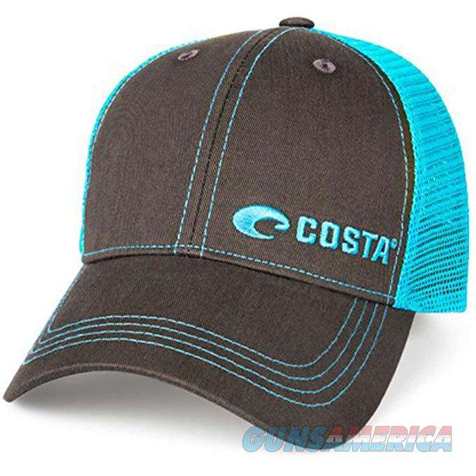 Costa Neon Trucker Hat Graphite Blue NEW  Non-Guns > Hunting Clothing and Equipment > Clothing > Hats