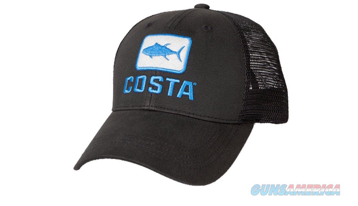 Costa Tuna Trucker Ball Cap Black  Non-Guns > Hunting Clothing and Equipment > Clothing > Hats