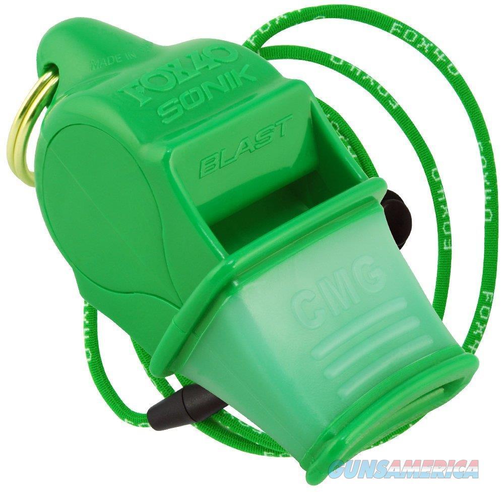 Fox 40 Sonik Blast CMG Whistle Green  Non-Guns > Miscellaneous