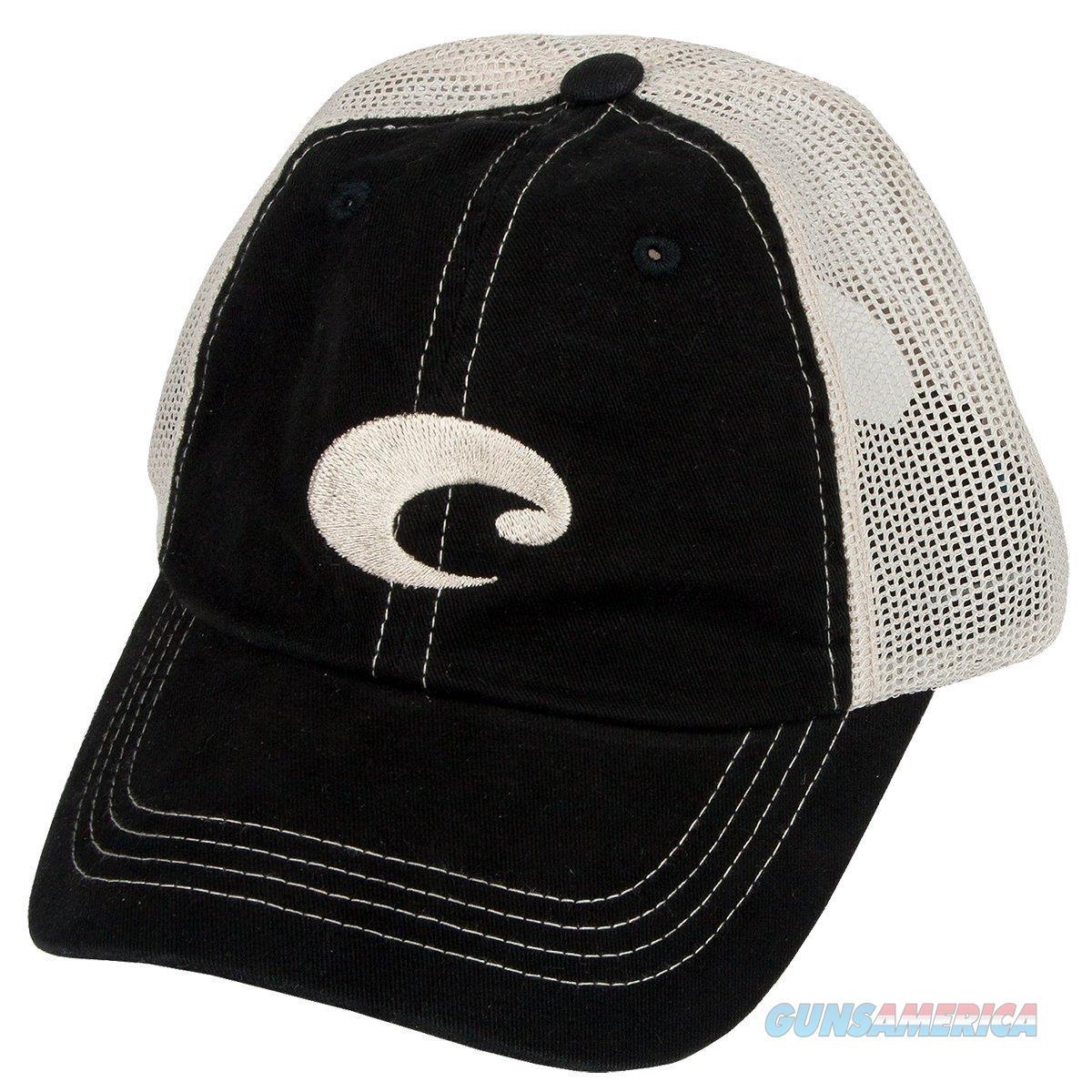 Costa Del Mar Mesh Hat Black Stone  Non-Guns > Hunting Clothing and Equipment > Clothing > Hats